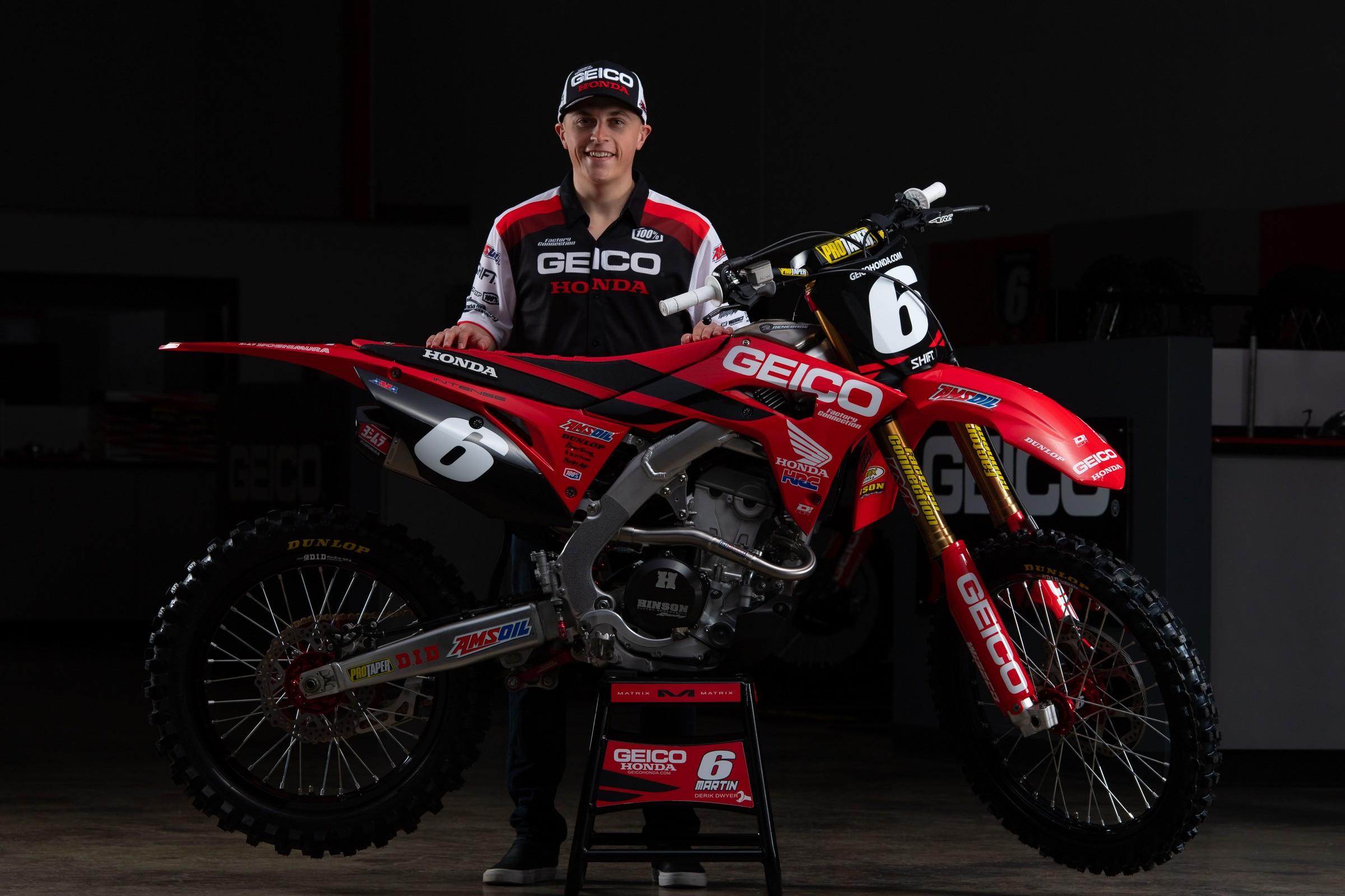 Jeremy Martin Out For 2019 Season - Supercross - Racer X Online