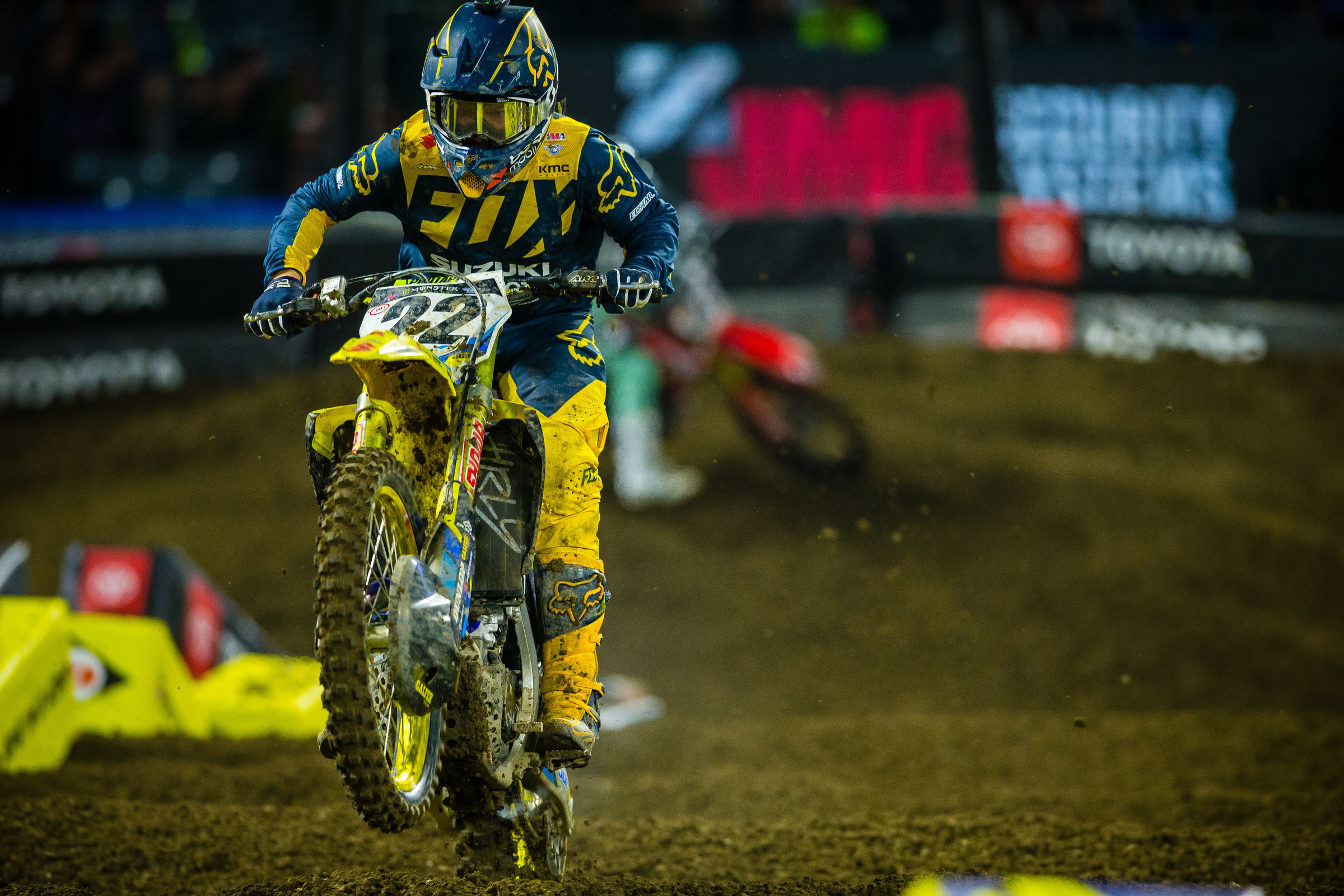 Although Reed finished ninth at Anaheim 1, on Saturday night the veteran added to his already historic career.