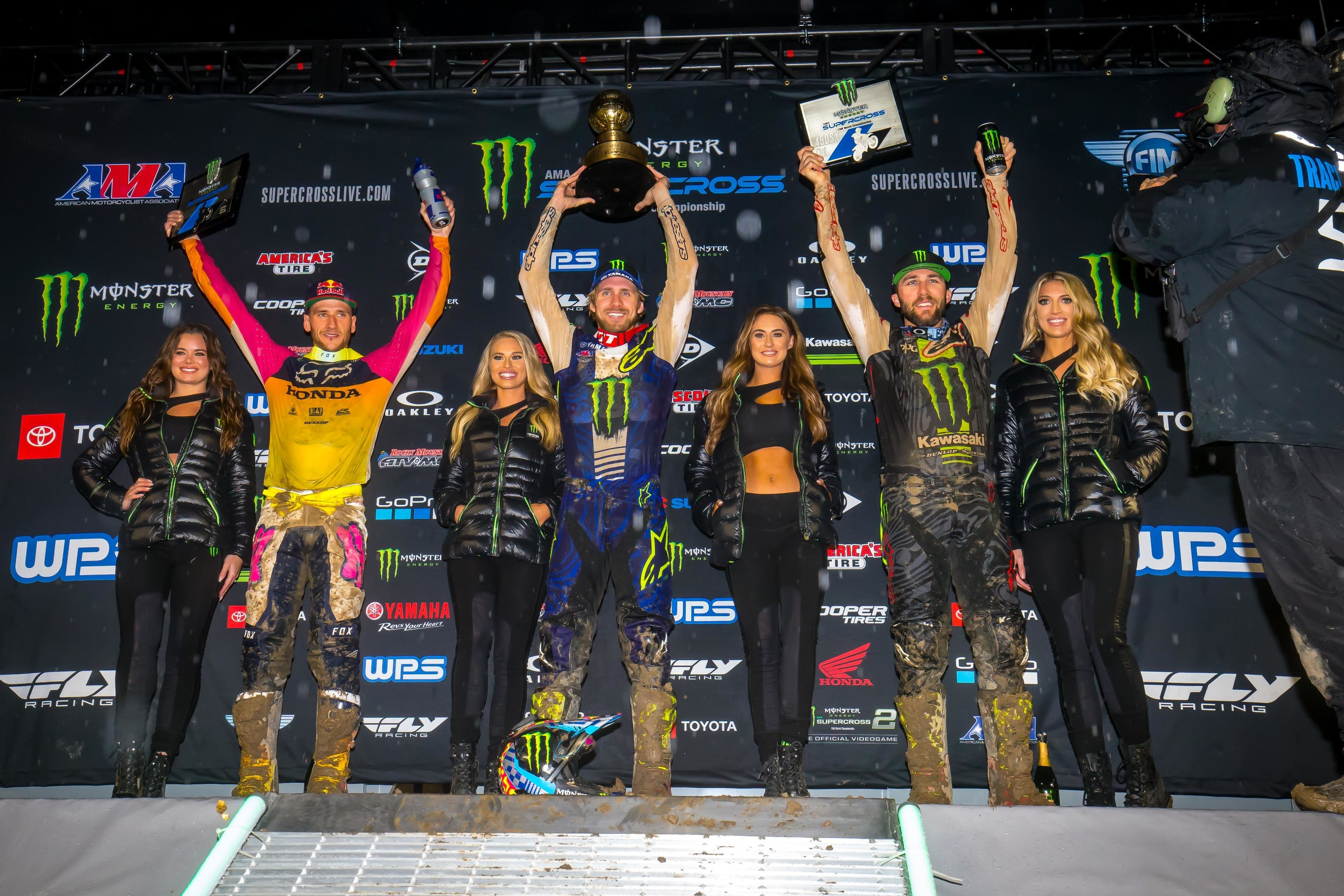 Saturday was the first time Eli Tomac earned a podium finish in the 450SX class at Anaheim 1.