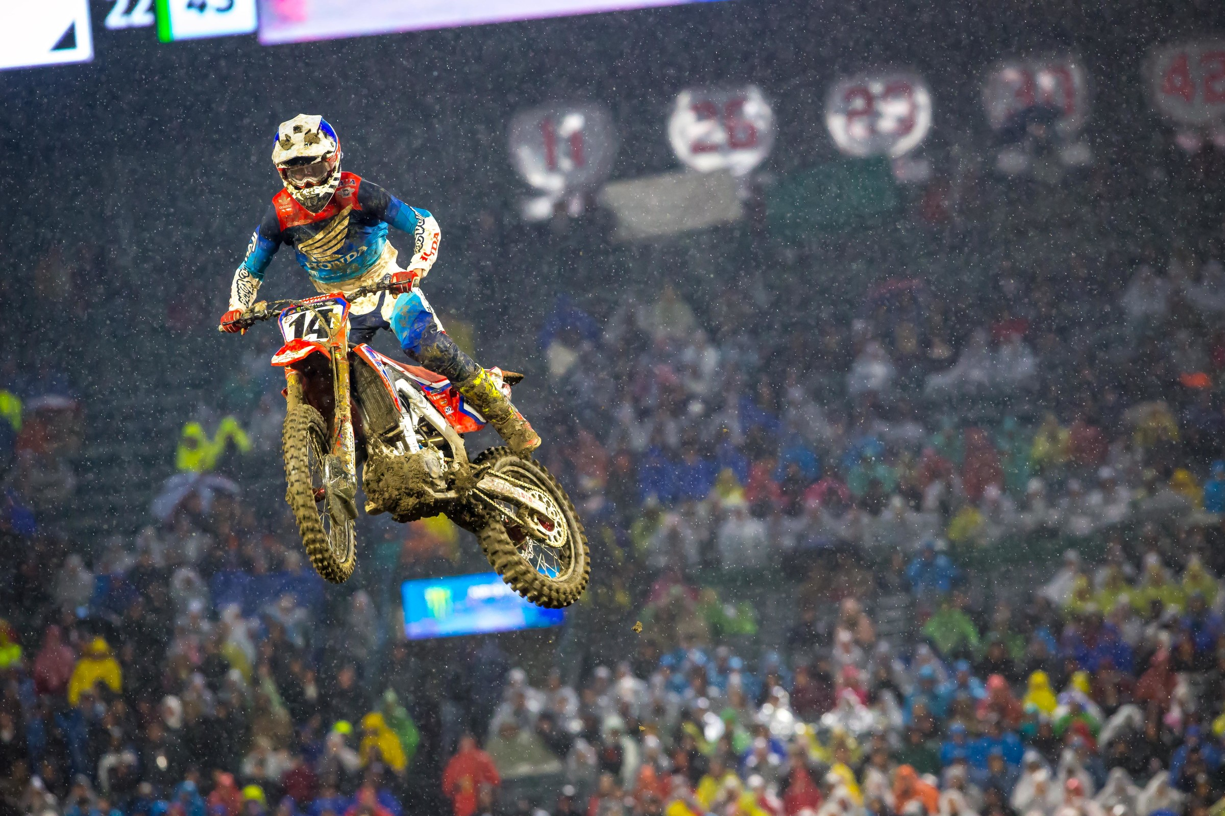 Coming off of an injury last season, Cole Seely finished in 10th.