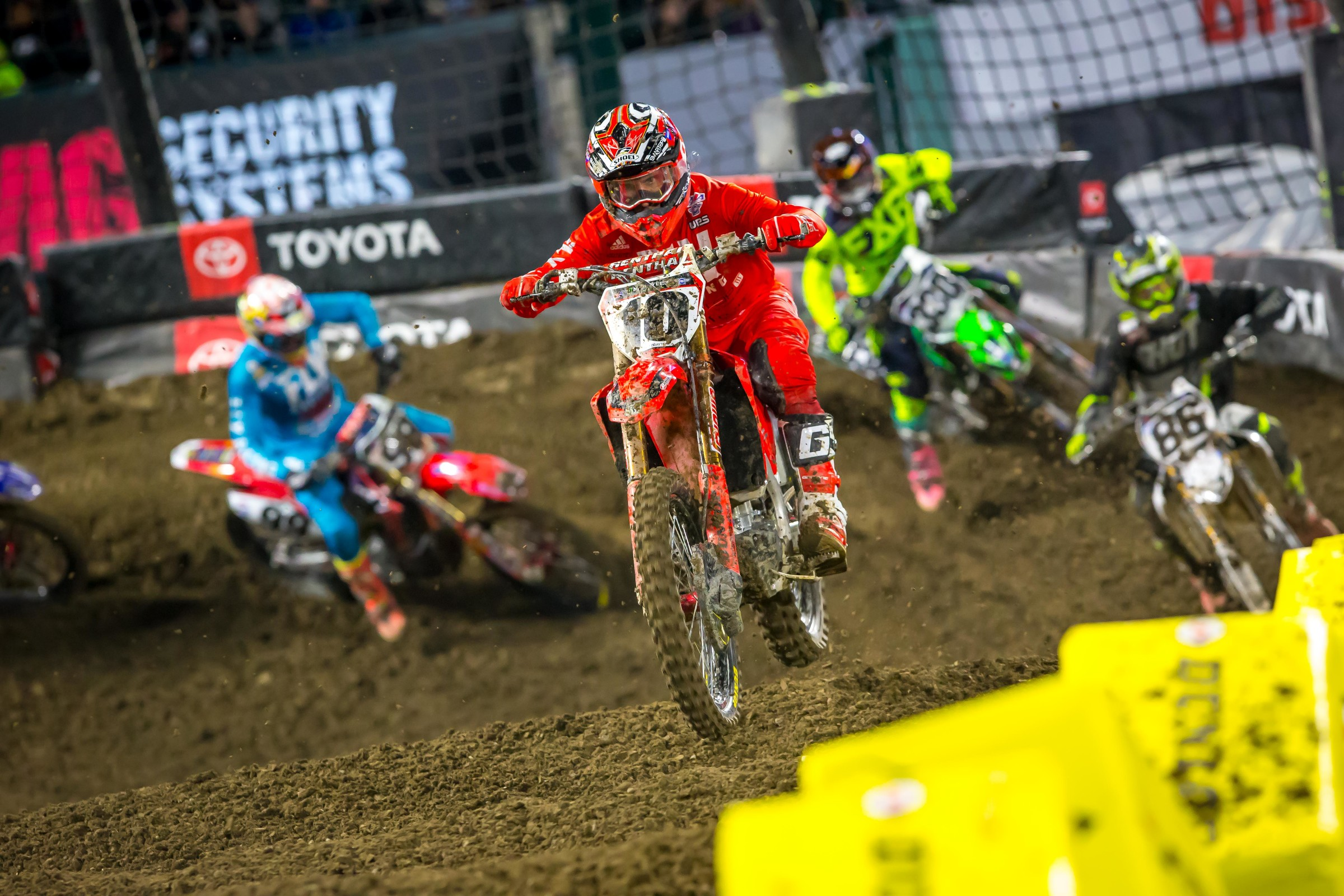 After looking solid in practice, Justin Brayton struggled with the conditions in the main event.