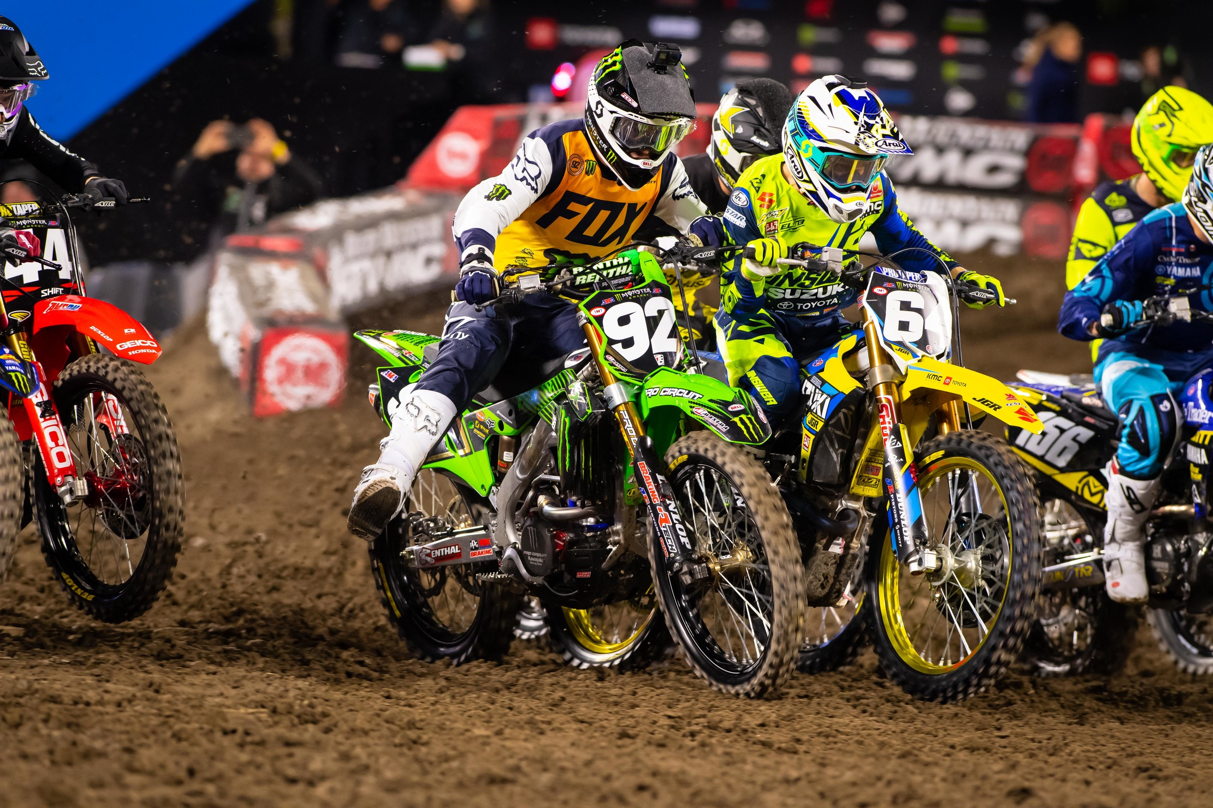 Cianciarulo was putting down fast laps both in qualifying—as the fastest qualifier—and then in his heat race when he finished in first. But when it came to the main event, AC made several mistakes that resulted in a fifth place finish.