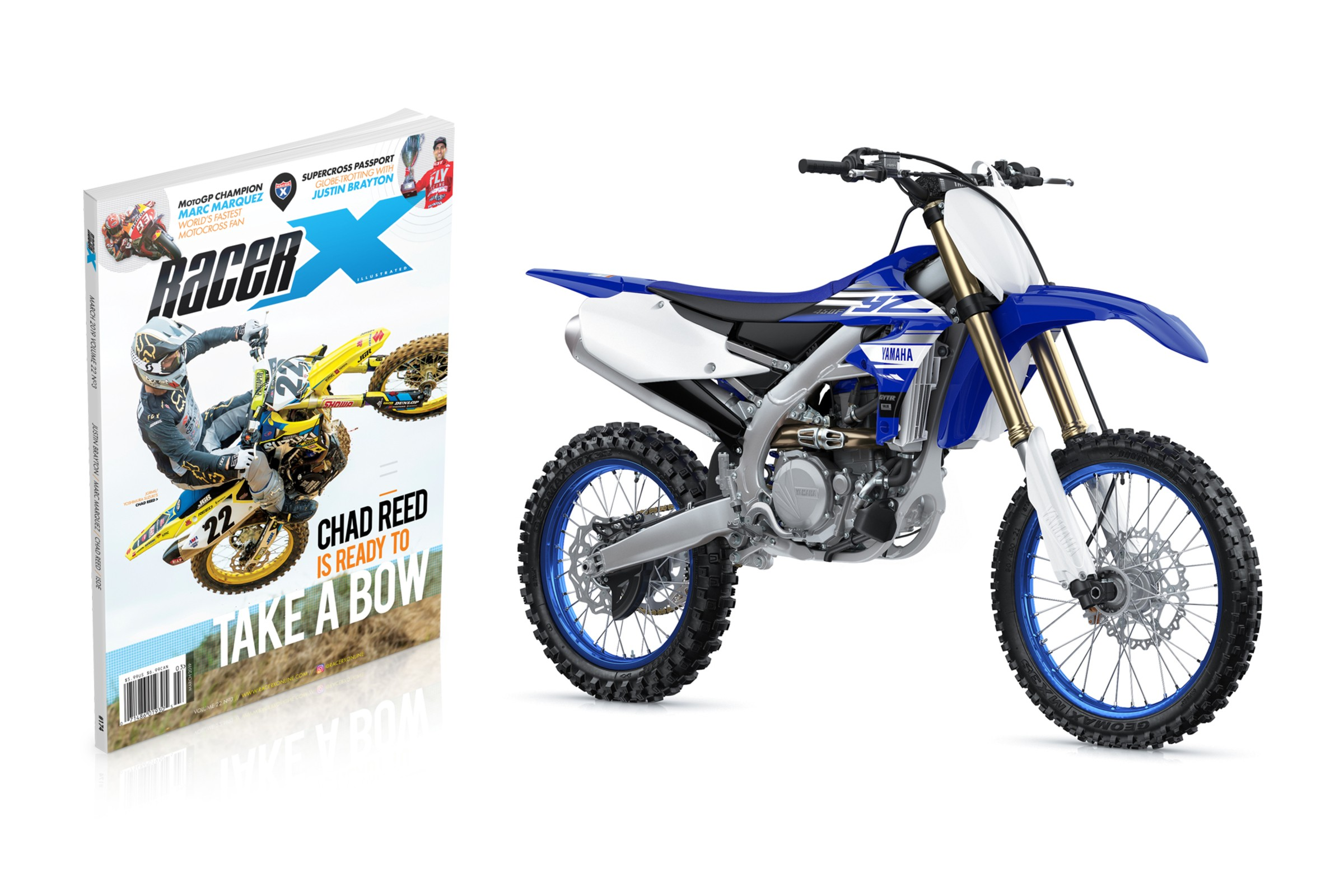 Enter To Win a 2019 Yamaha YZ450F at Arlington Supercross
