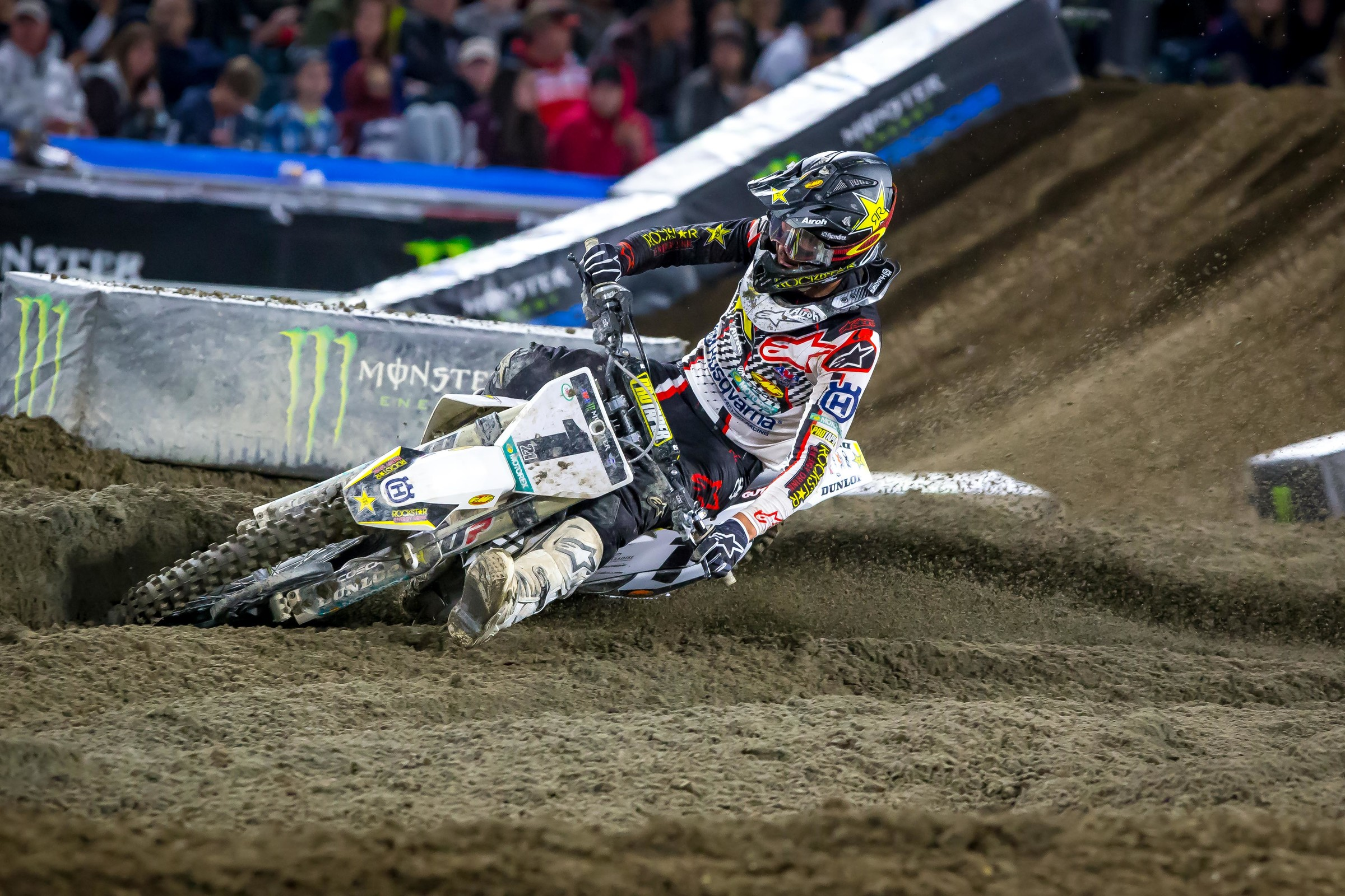 For example, Jason Anderson had some good laps but also some bad ones, and when combined with an off track excursion in race three, was ninth overall.