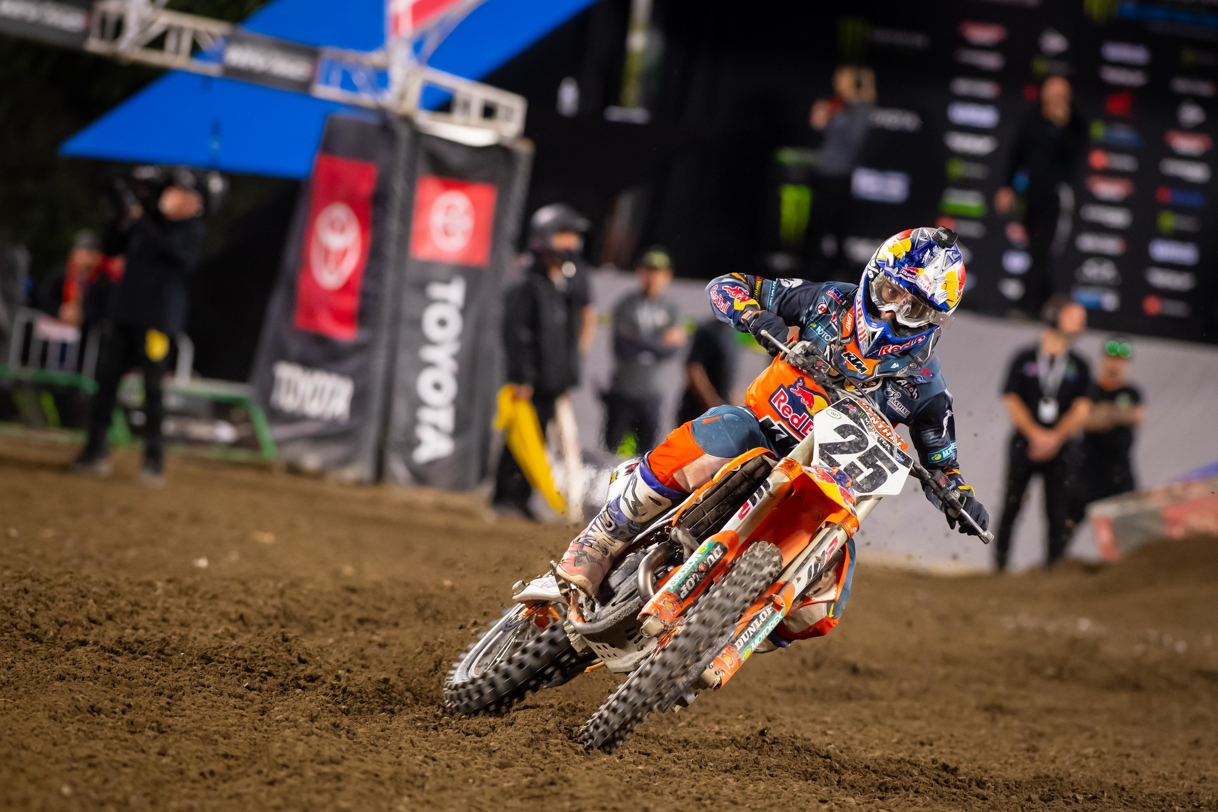 Musquin sits in fourth place in the 450SX points standings and is only seven points behind points leader Ken Roczen.