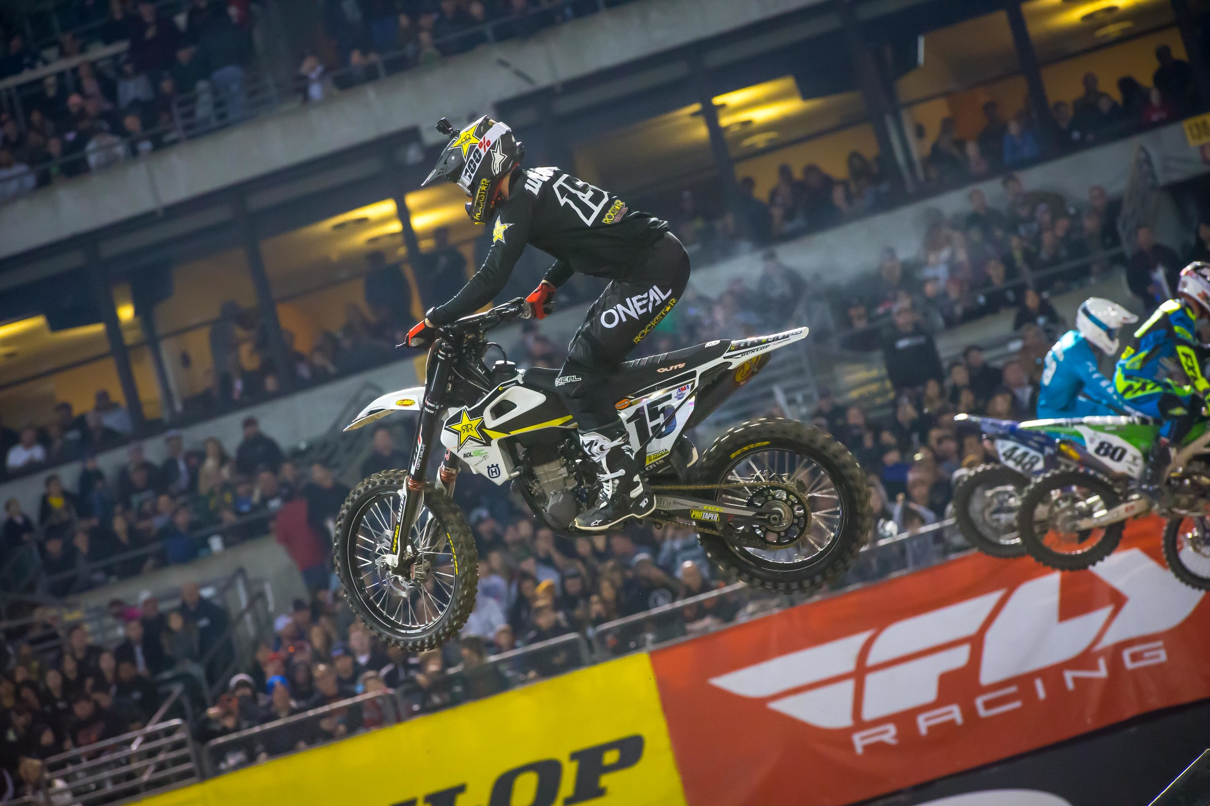 Dean Wilson was quietly solid again, taking sixth in Oakland. He now sits sixth in points.