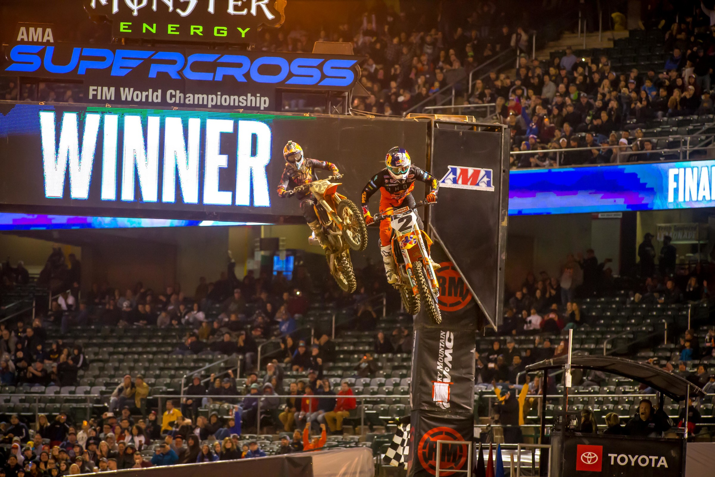 Cooper Webb was brilliant in Oakland, but Marvin Musquin nearly caught him on the final lap.