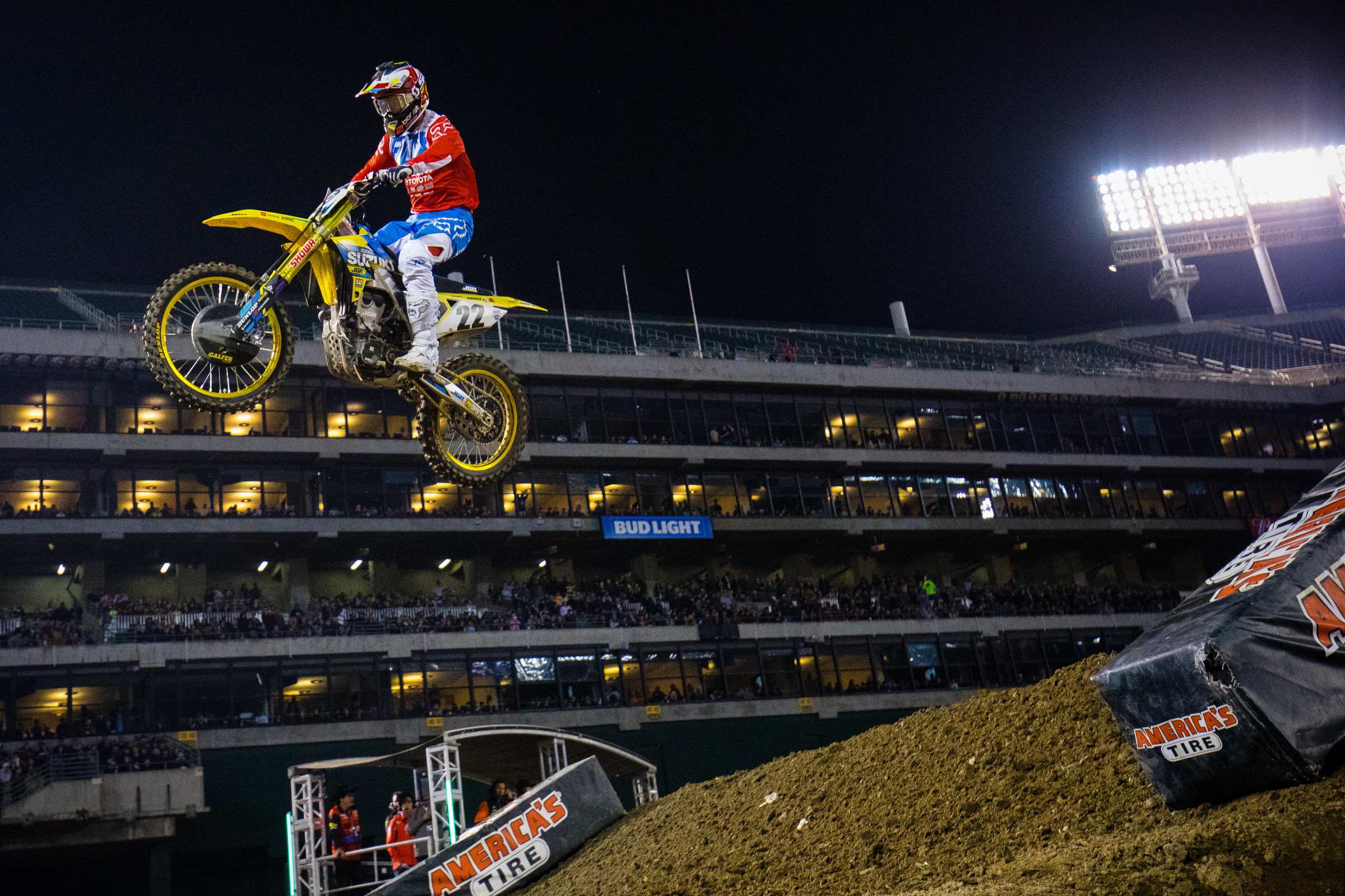 Chad Reed holds more San Diego supercross wins than anyone else in the history of the championship, with six total in the premier class.