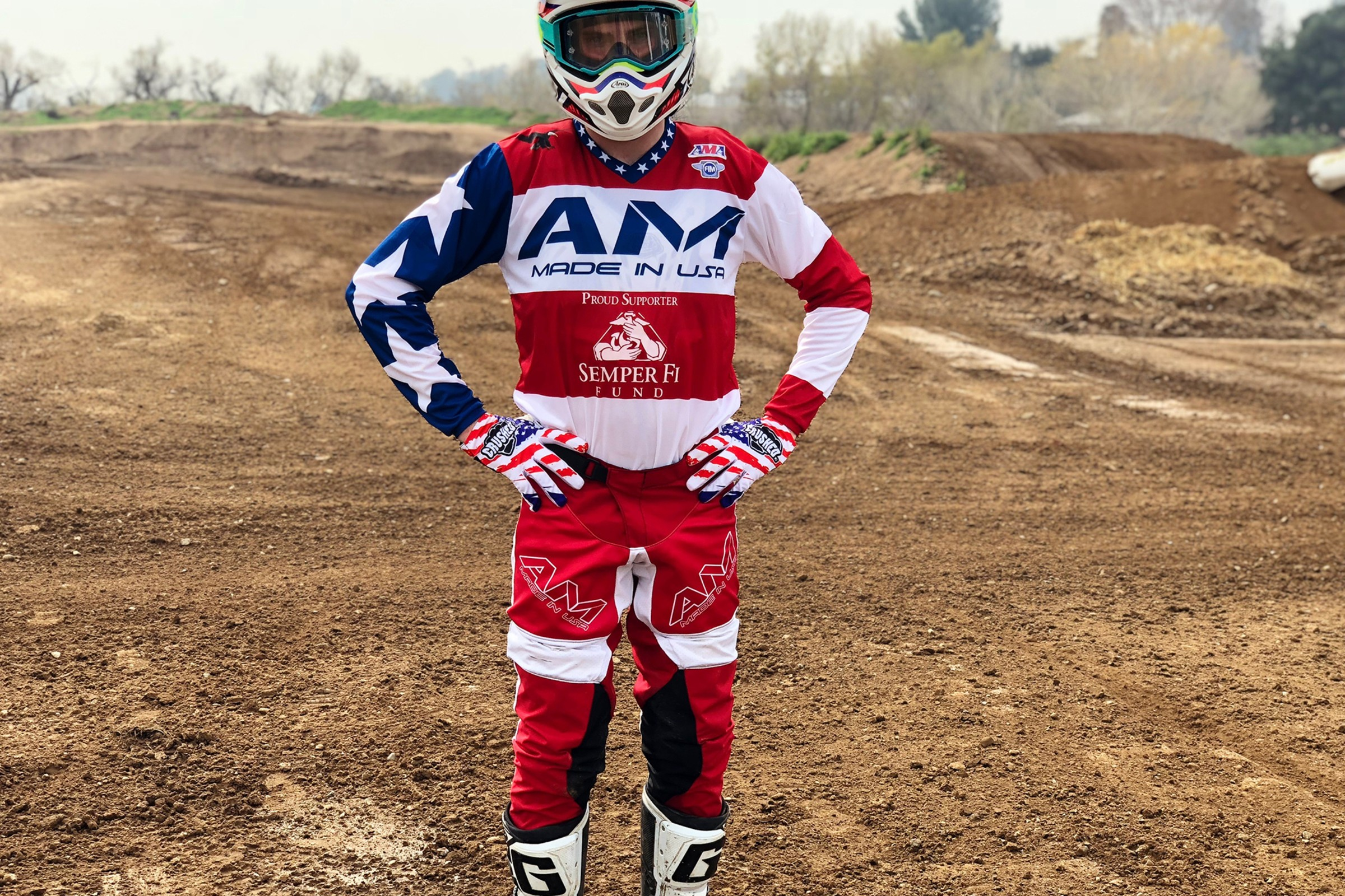 Cade Autenrieth SX Jersey & AM Gear Raffle to Benefit the Semper Fi Fund