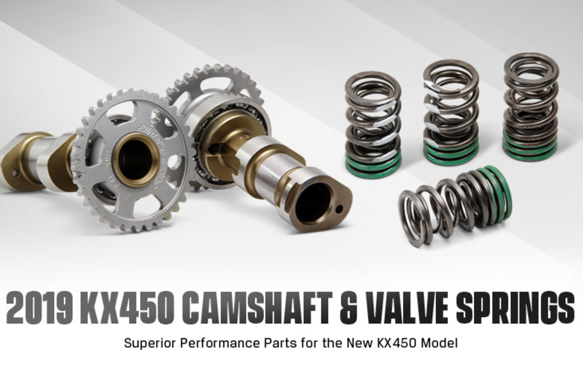 Pro Circuit Camshafts and Valve Springs Now Available for 2019 KX450
