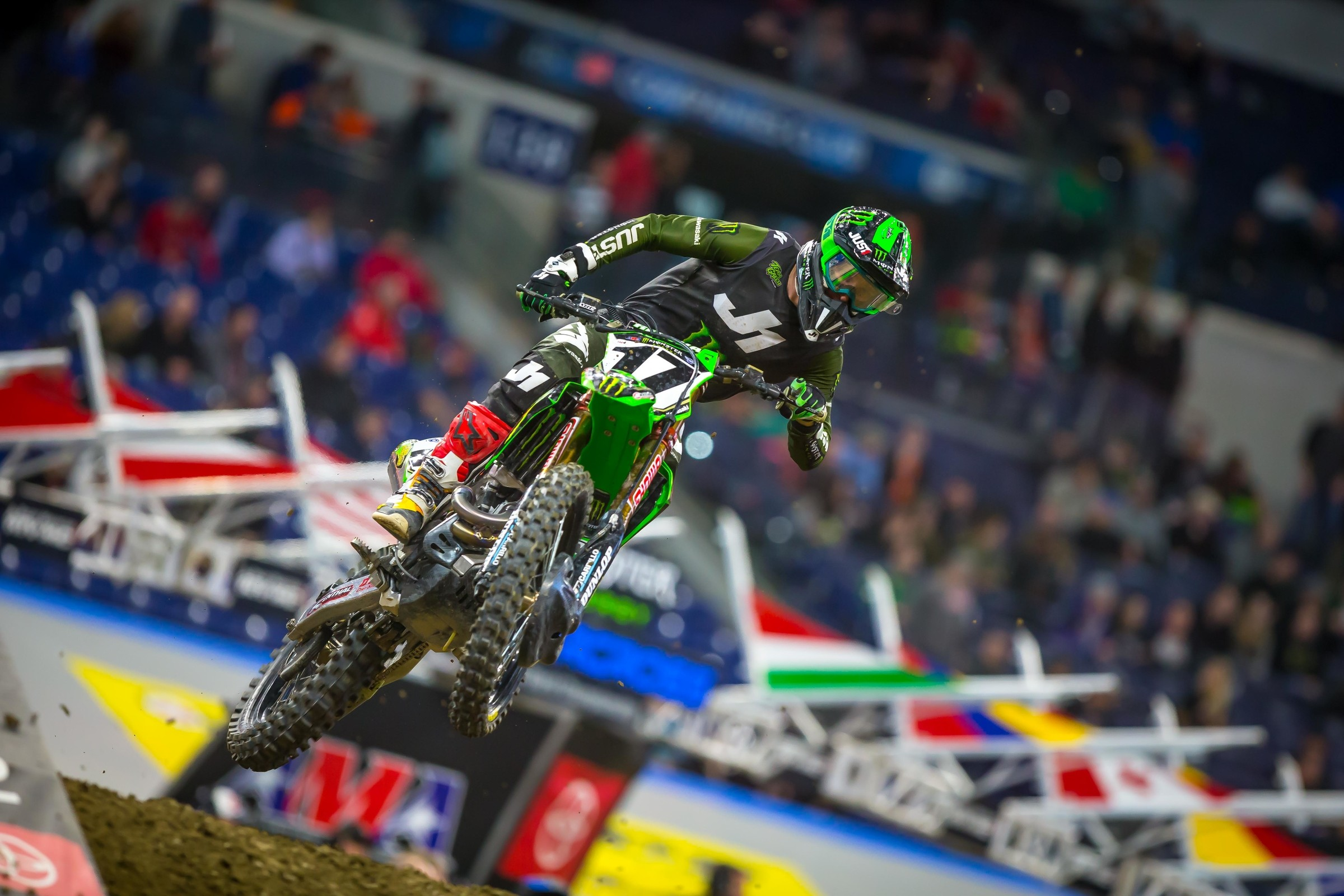 Indianapolis Supercross Highlights
