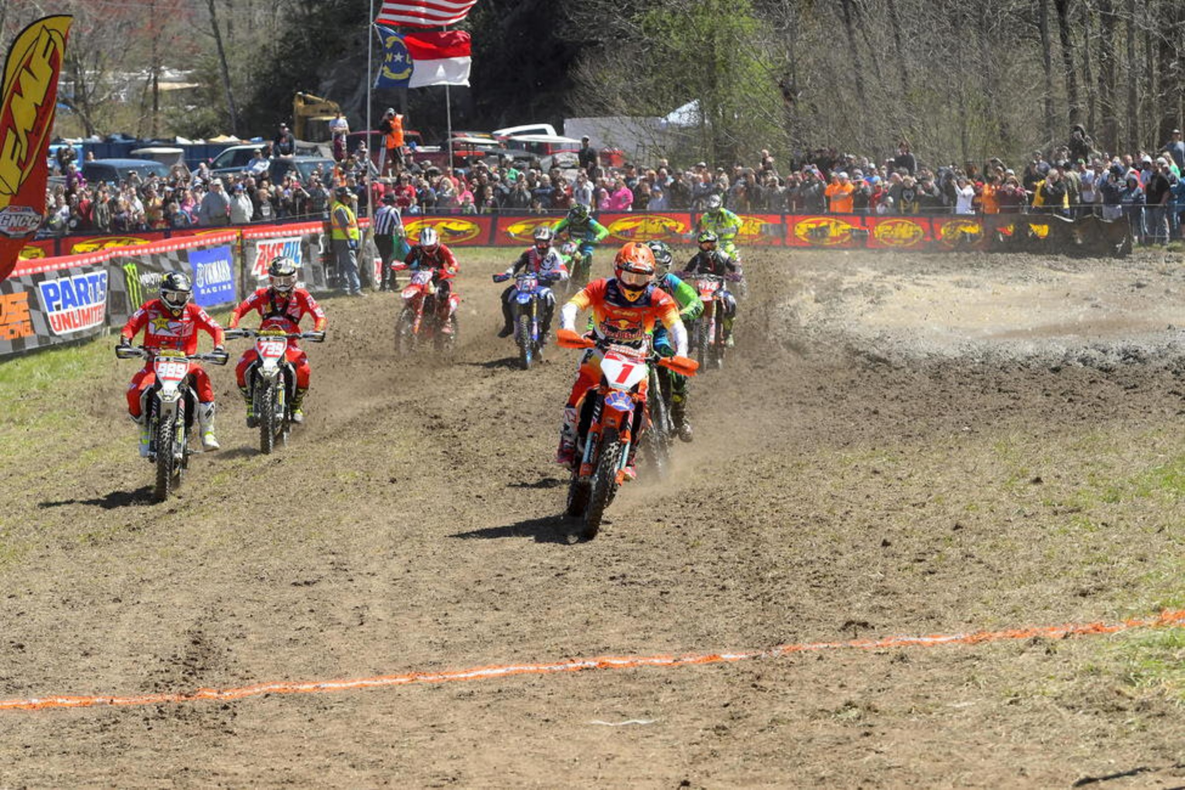 Watch: Steele Creek GNCC Highlights