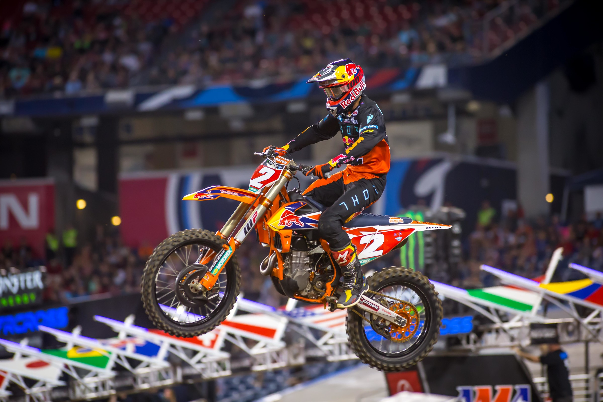 Webb once again used a great start and consistent riding to land on the podium and extend his points lead.