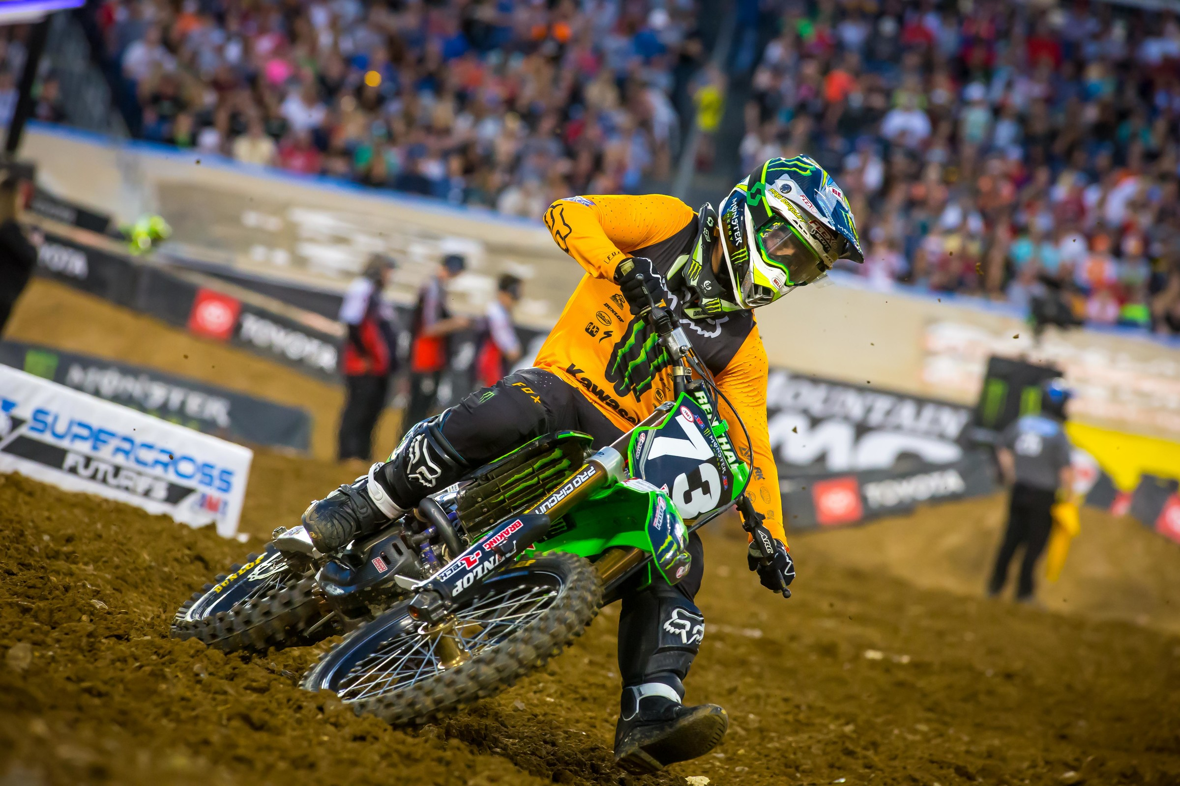Martin Davalos took advantage of all the chaos to grab the win.