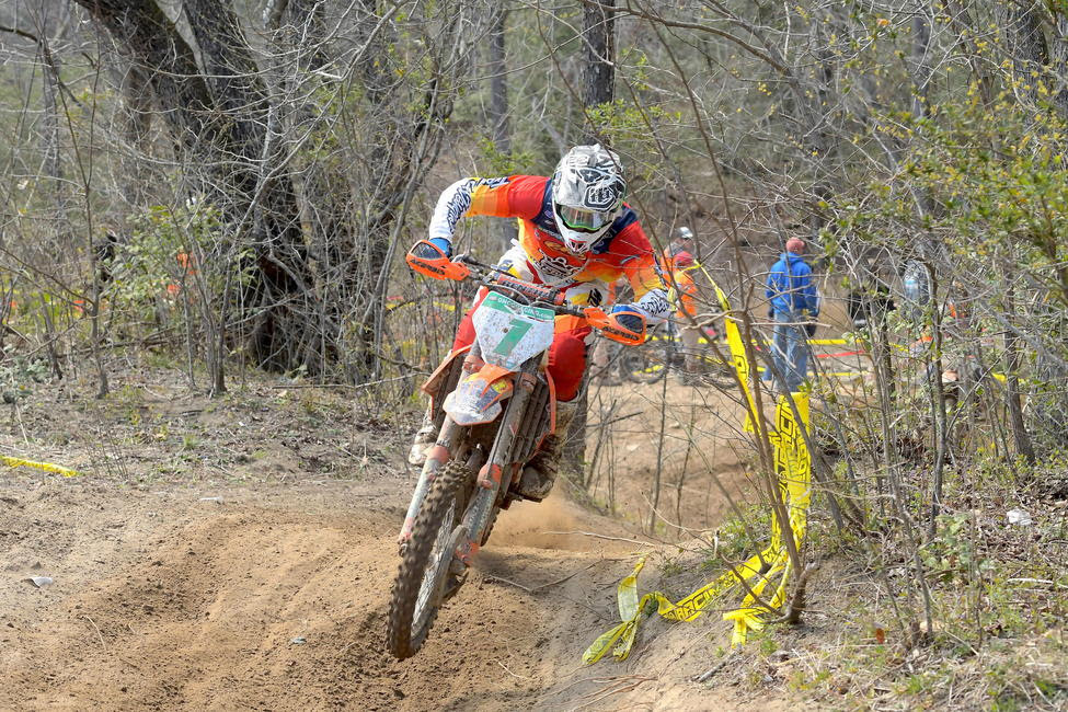 Ben Kelley is aiming to earn his fourth-straight XC2 250 Pro class win.