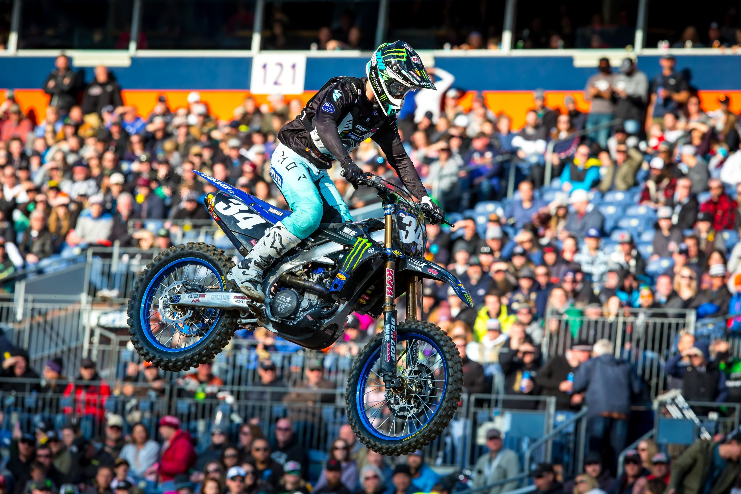 Ferrandis' two-race win streak is history. He rode well to get second but knew he couldn't afford to lose points to Cianciarulo.