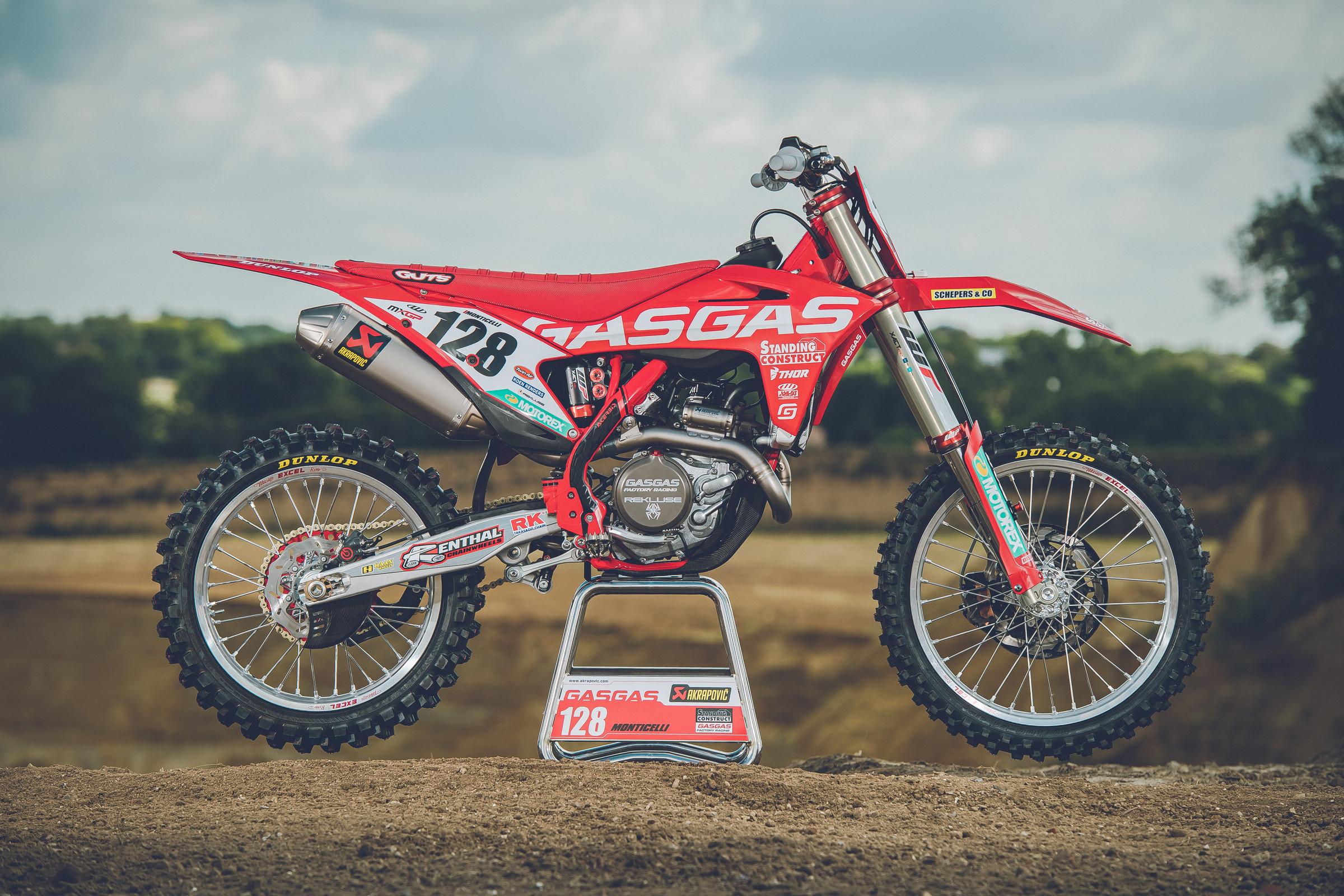 Gas Gas Unveils New Motocross Bikes For Mxgp Restart Racer X Online