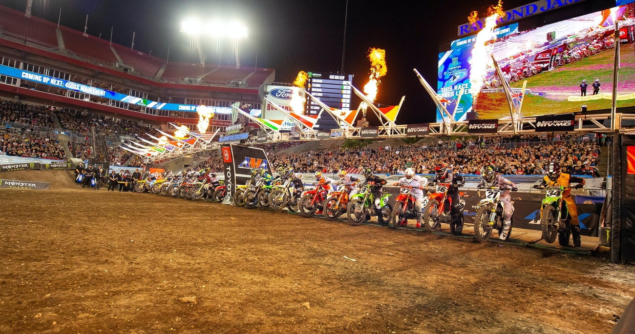 Ama Supercross 2021 Calendrier 2021 Monster Energy AMA Supercross Schedule Announced   Racer X Online
