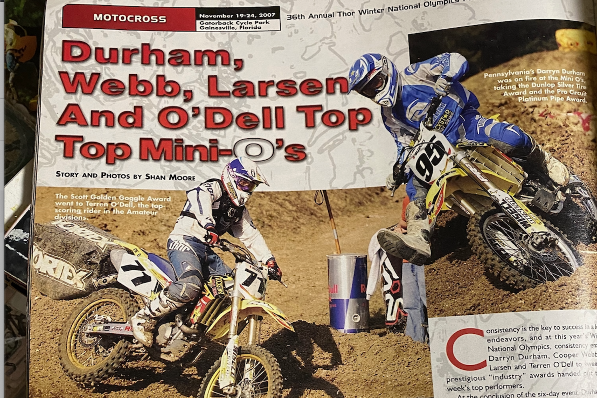 Davey Coombs Recaps Mini O S History From 1990s 2000s Mini Os Racer X Online