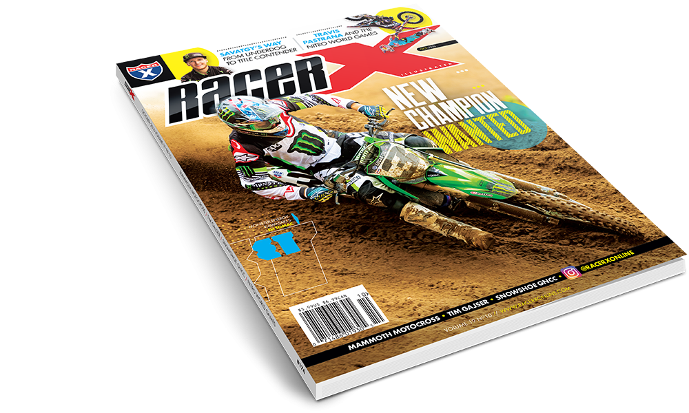 The October 2016 Issue - Racer X Illustrated Motocross Magazine