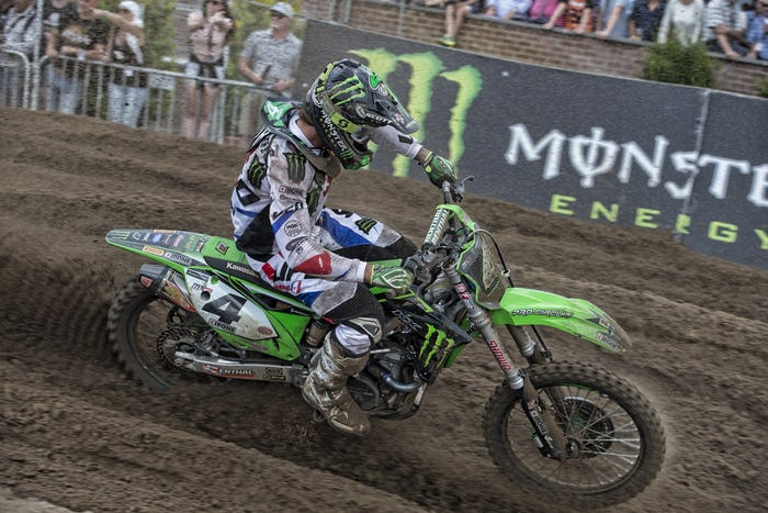 Dylan Ferrandis Likely Out for Motocross of Nations