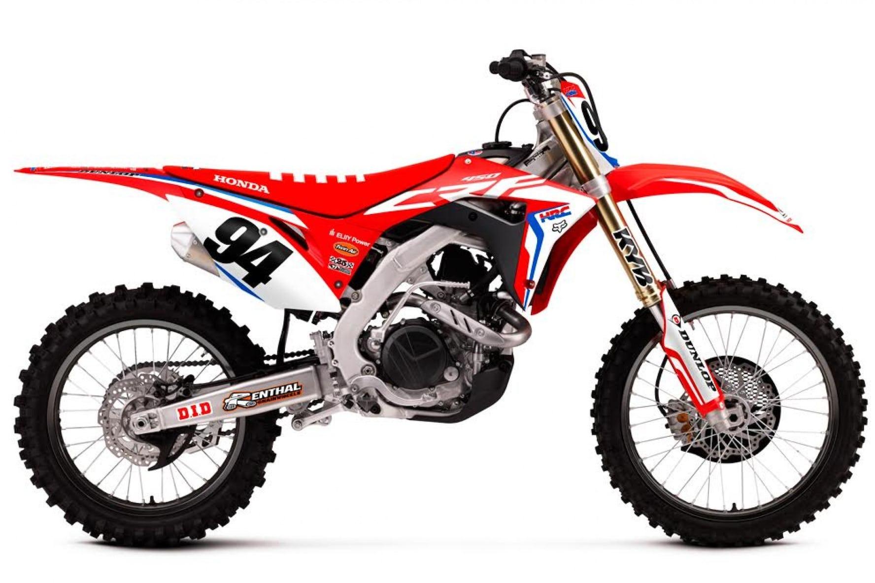 Throttle Jockey To Release 2017 Honda Hrc Team Graphics