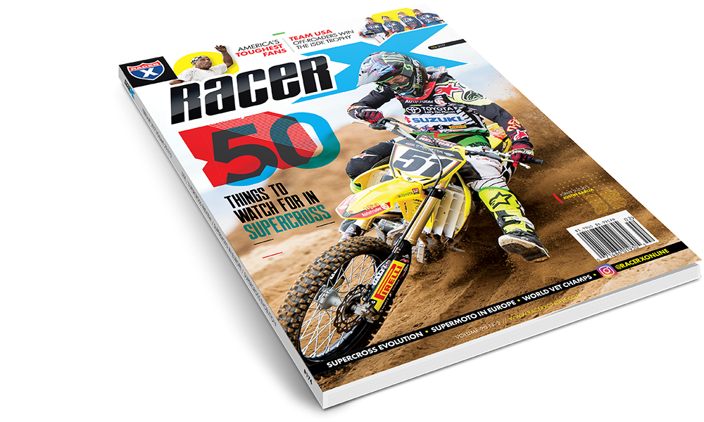 The February 2017  Issue - Racer X Illustrated Supercross Magazine
