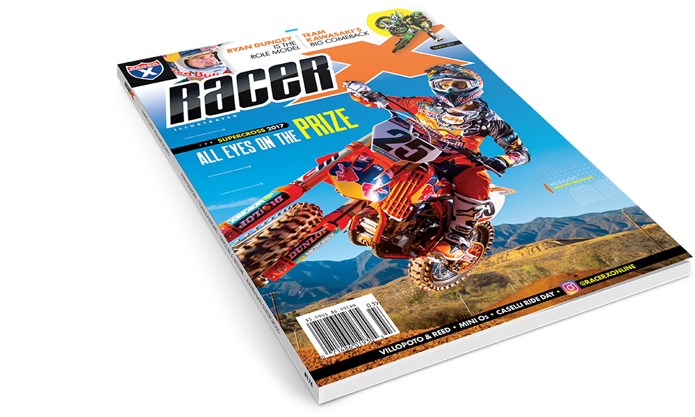 The March 2017  Issue - Racer X Illustrated Supercross Magazine