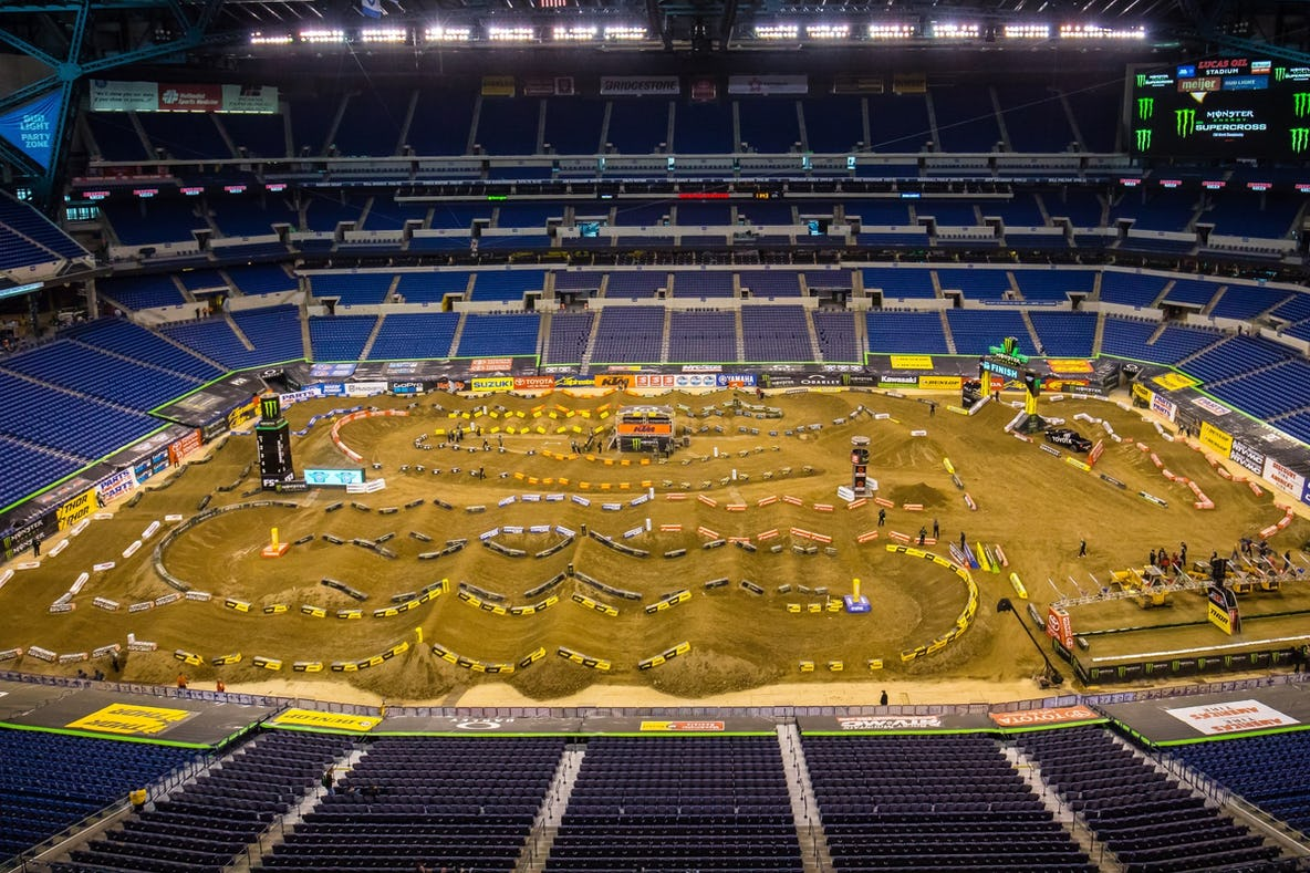Image result for indianapolis supercross