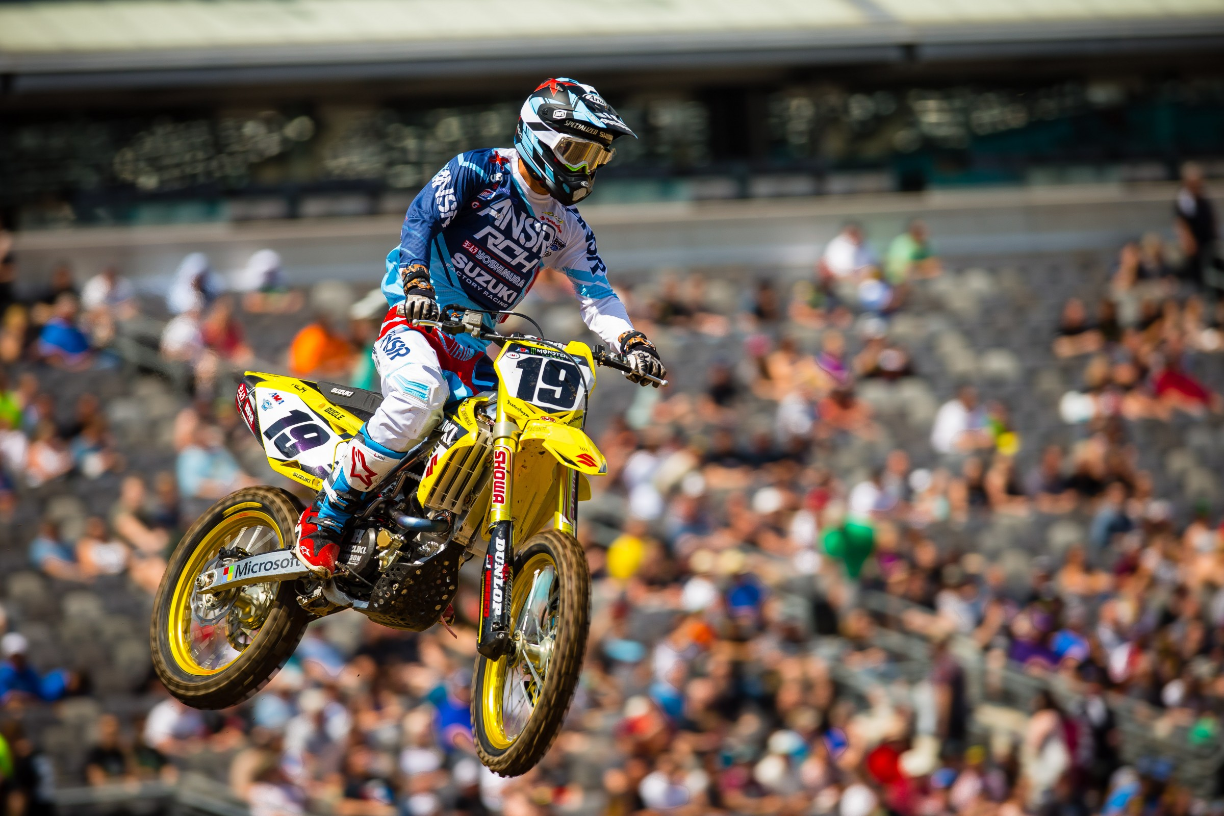 Bogle was unable to finish the day in East Rutherford due to soreness.