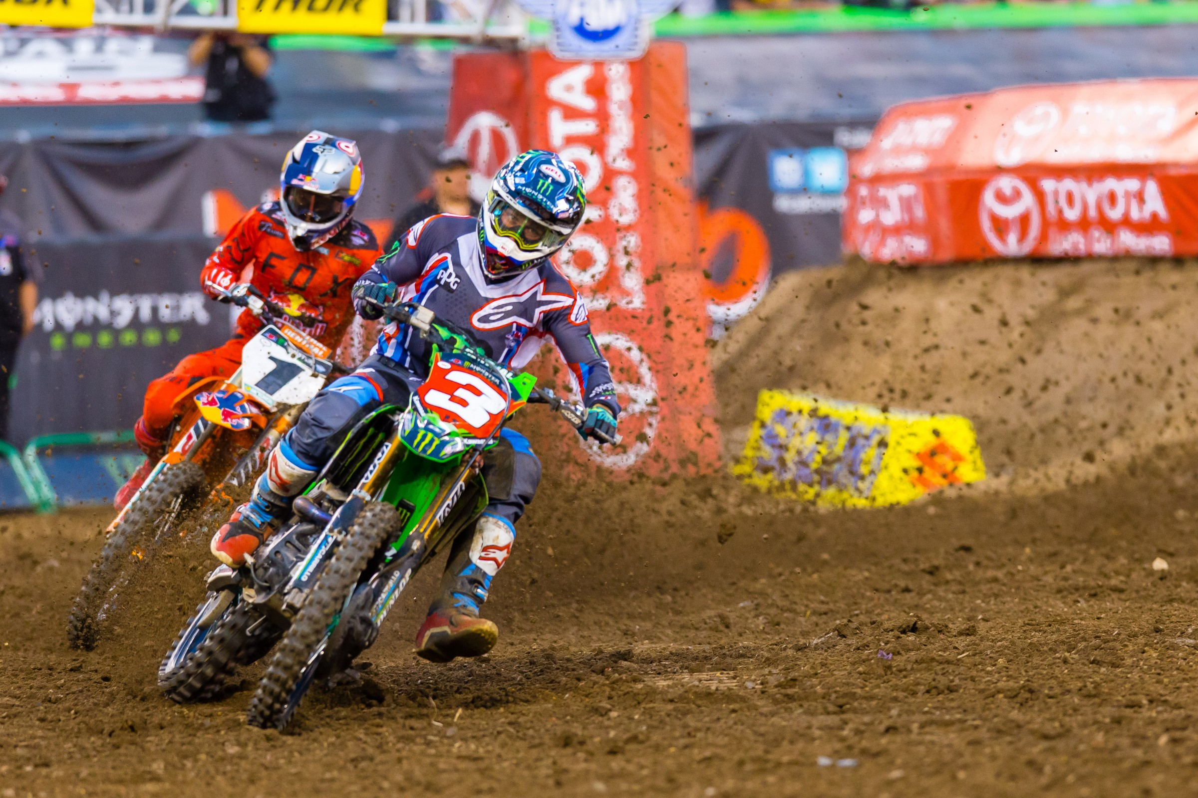 Tomac dismissed the idea that red plate pressure impacted his performance last weekend.