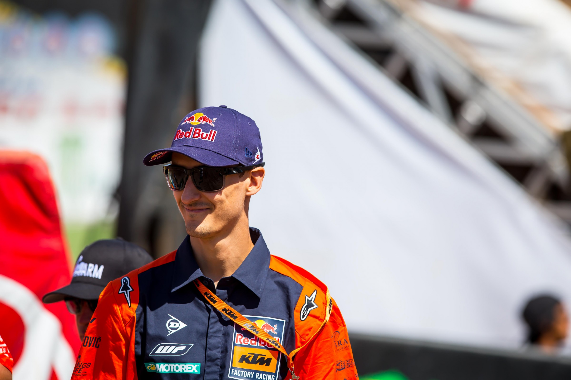 Musquin likes to do most of his therapy the night before the race.
