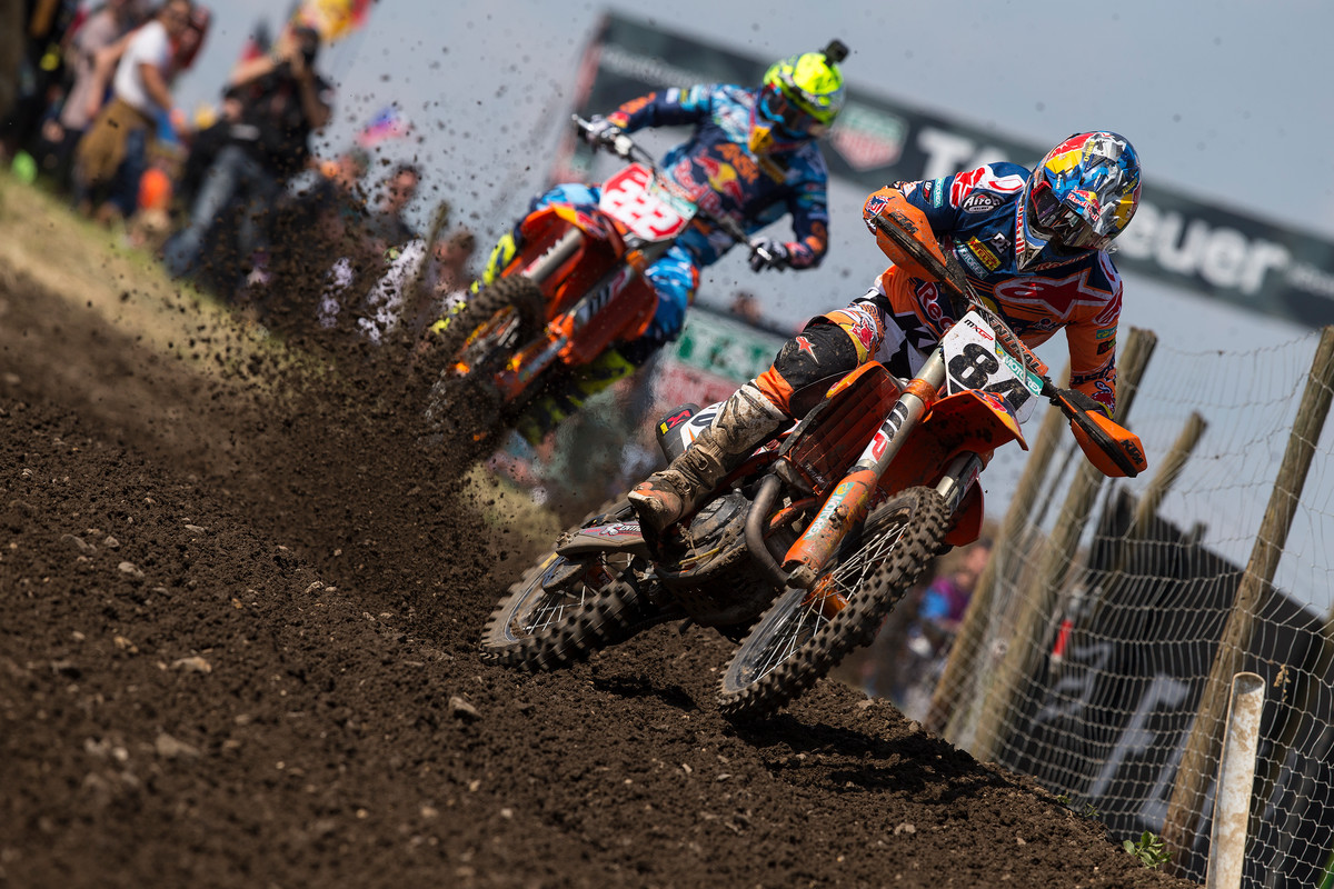 Herlings seems to have found his groove in the MXGP class.