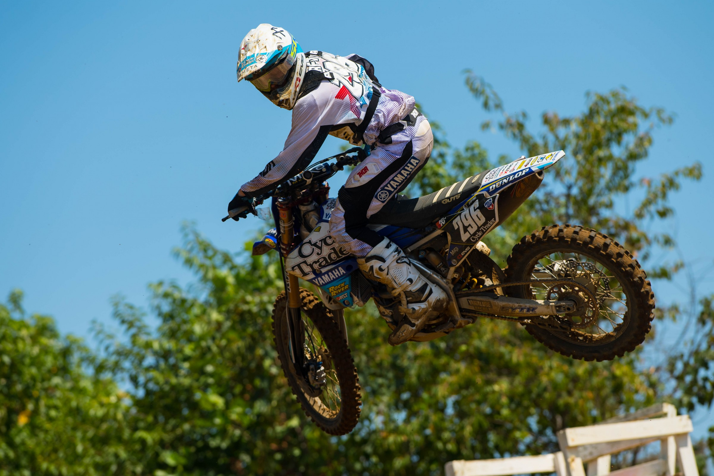 Taft went 18-13-12 at the last three rounds of Pro Motocross last year.