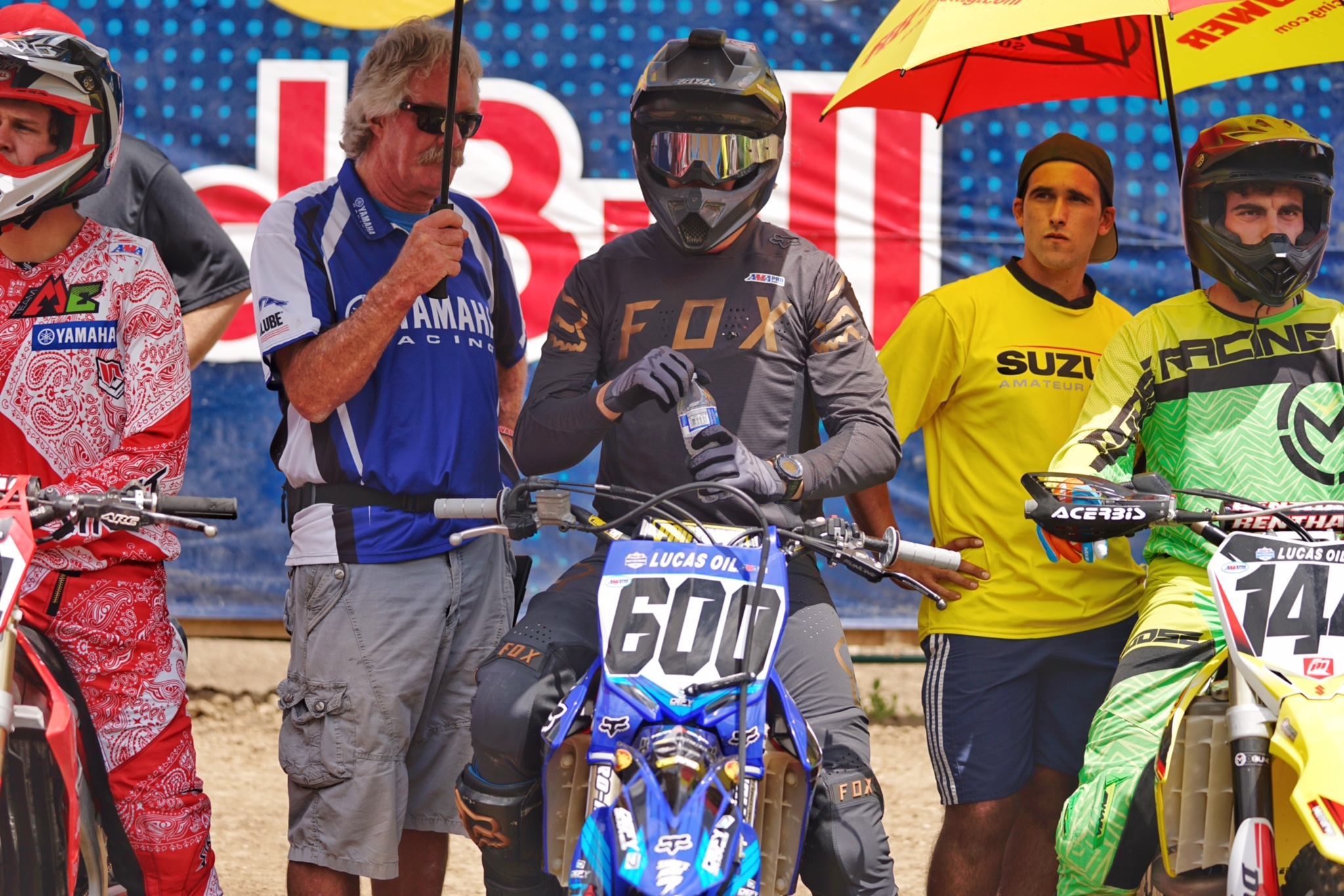 Connor was on pace for a top-20 overall finish, but crashed in the second moto while running 20th.