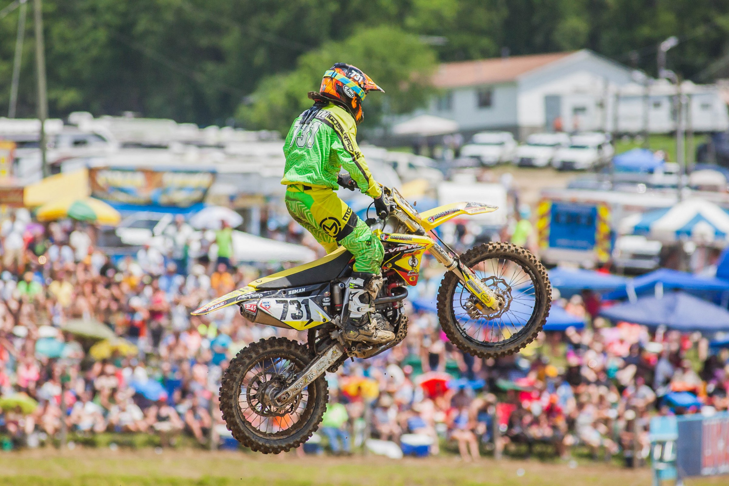 Roman went 29-29 in the 450 Class at High Point.