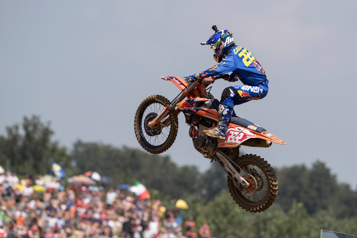 Antonio Cairoli went 1-1 to claim the overall in Italy.
