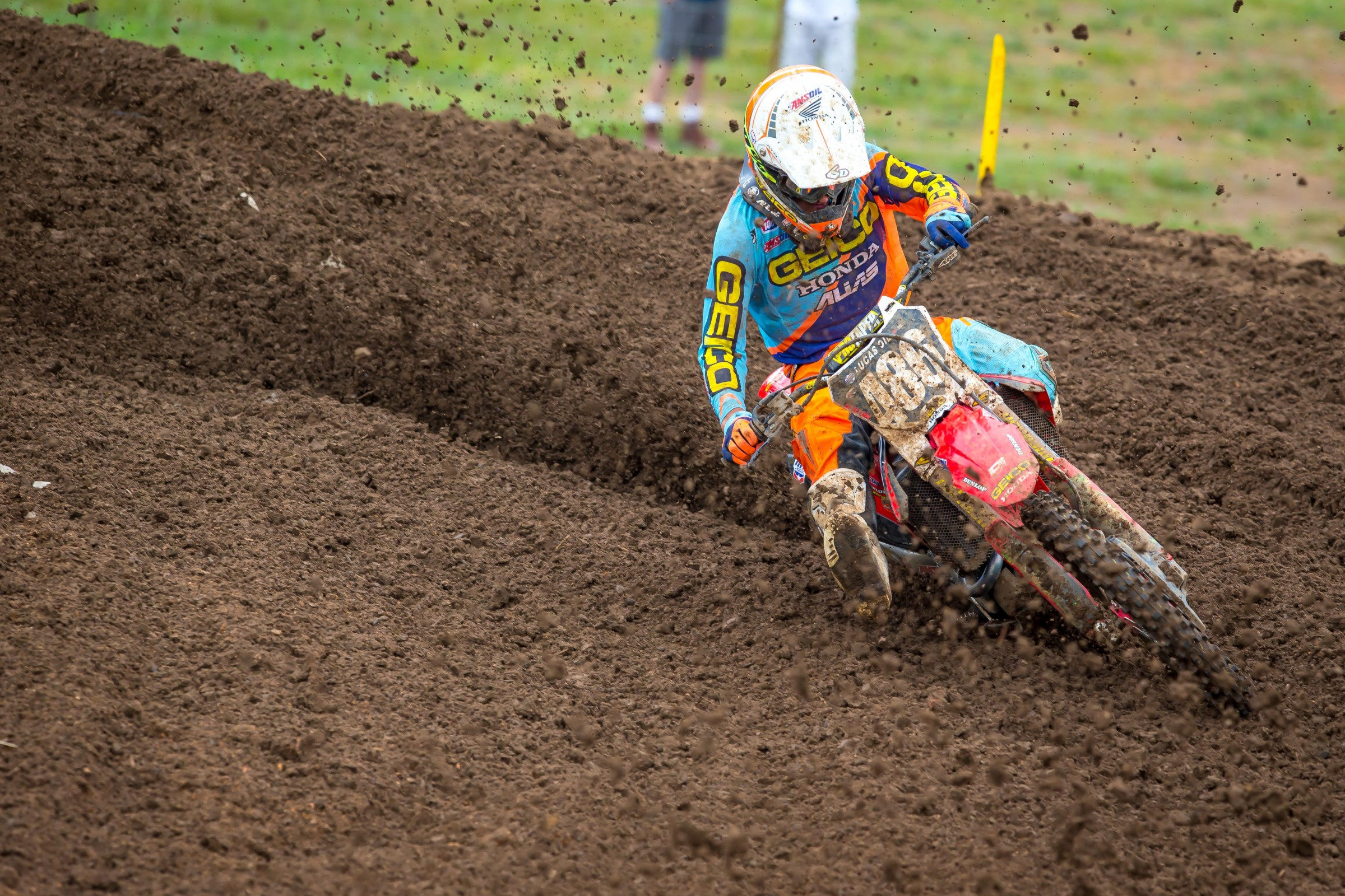 Chase Sexton finished 11th overall in his second pro race.