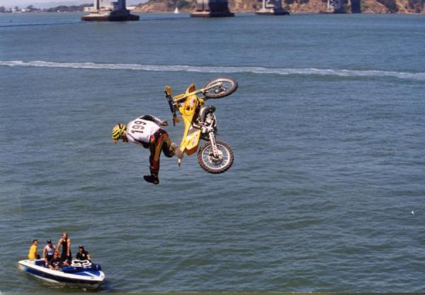 The jump that launched Pastrana into the mainstream.
