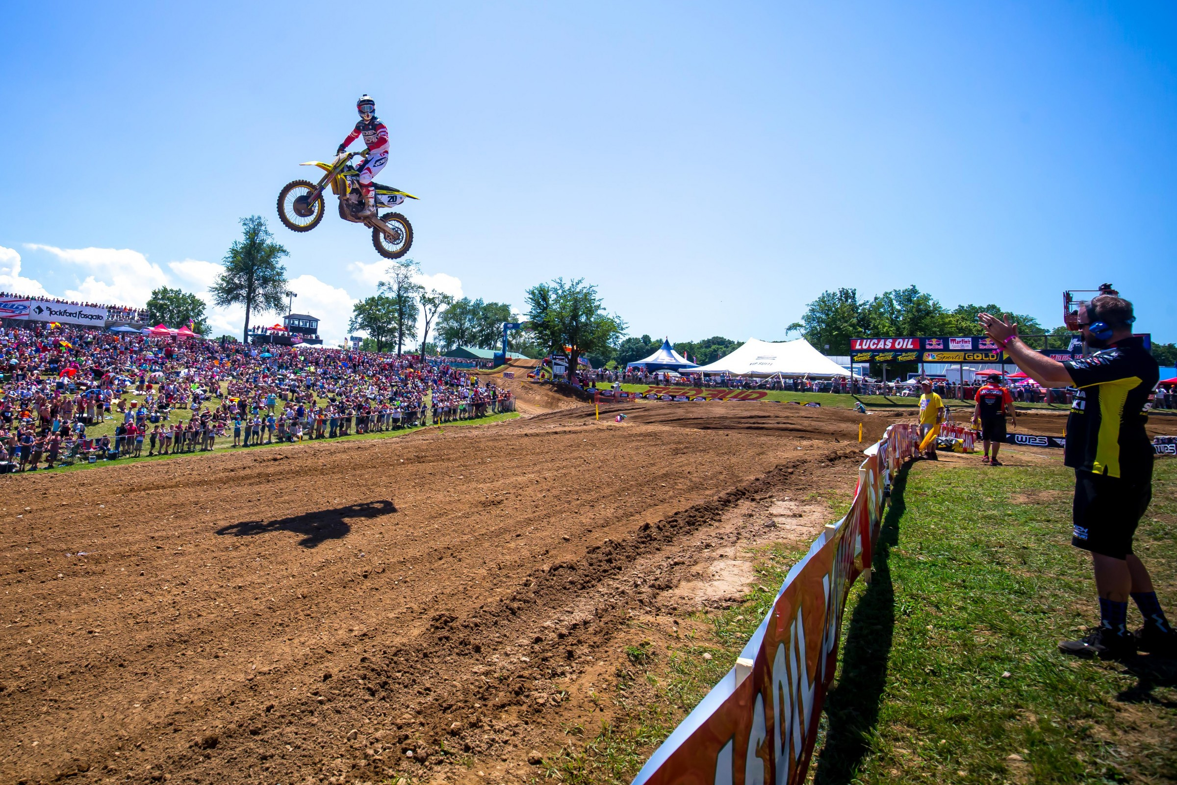 Tickle is beat up from RedBud, but he is expected to give it a go this weekend at Southwick.