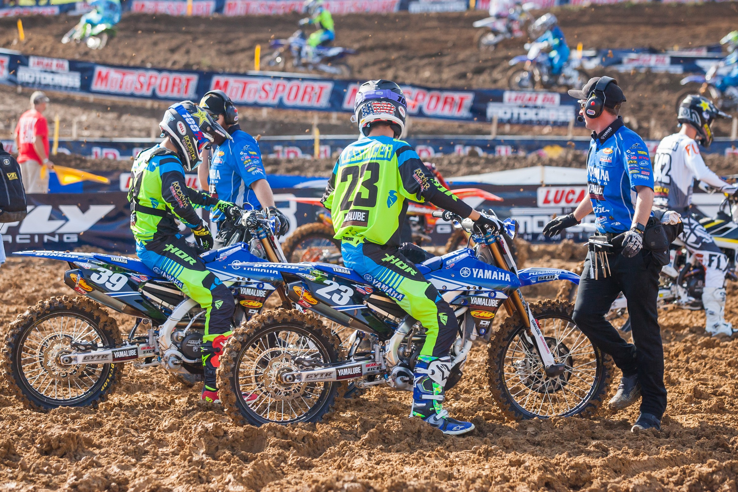 During practice High Point was about as muddy of a track as we have seen this year, and even that turned out decent by the time the motos came around. Weege had some buddies praying for more rain to try to prove his theory wrong, but the motos turned out okay.