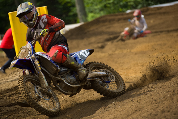 MX101 FXR Yamaha Team's Shawn Maffenbeier finds himself only two points back in the championship after round six.