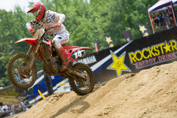 Honda Canada GDR Fox Racing's Dylan Wright continues to get stronger each weekend and his results are proving it