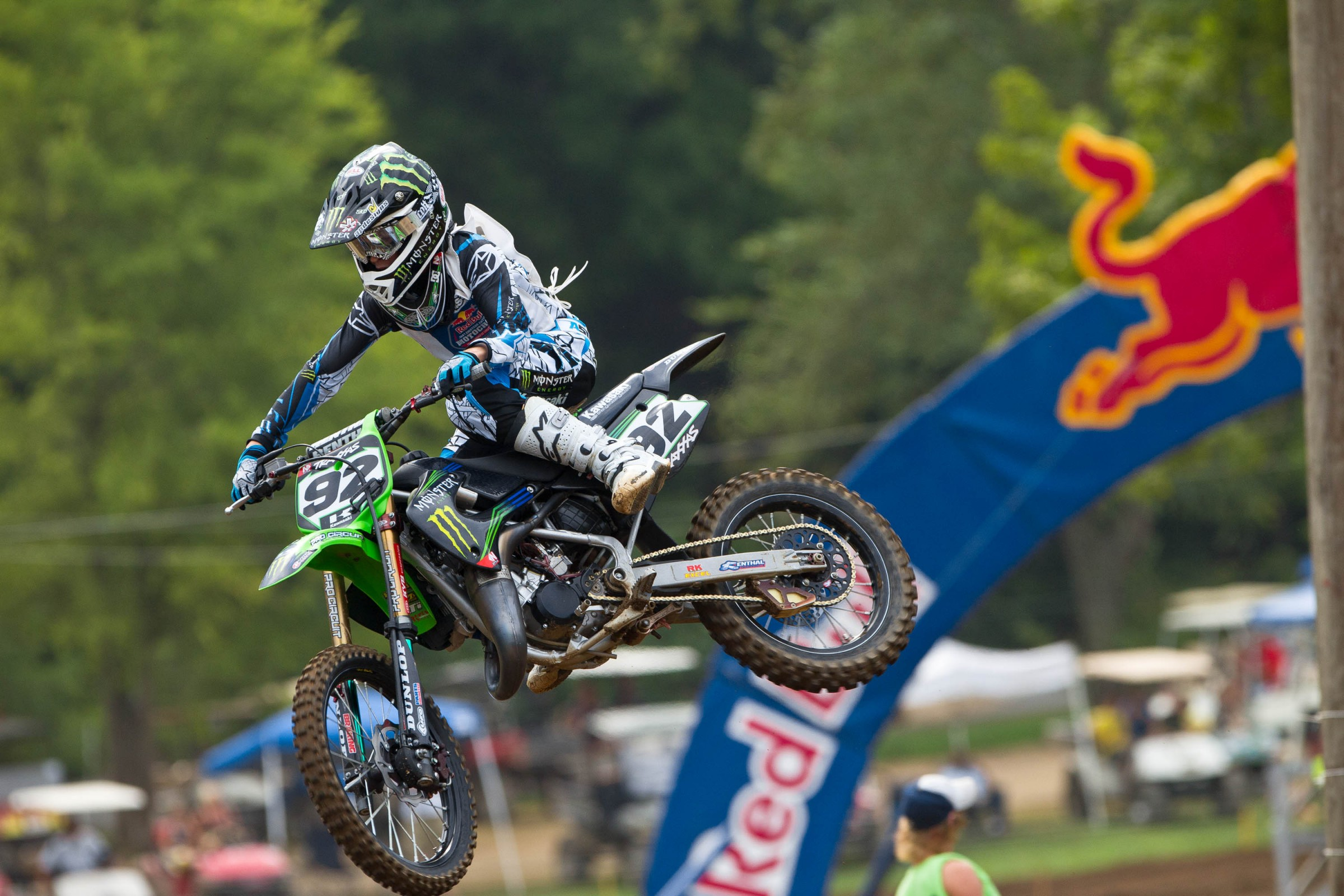 AC won four out of his six motos in 2011.