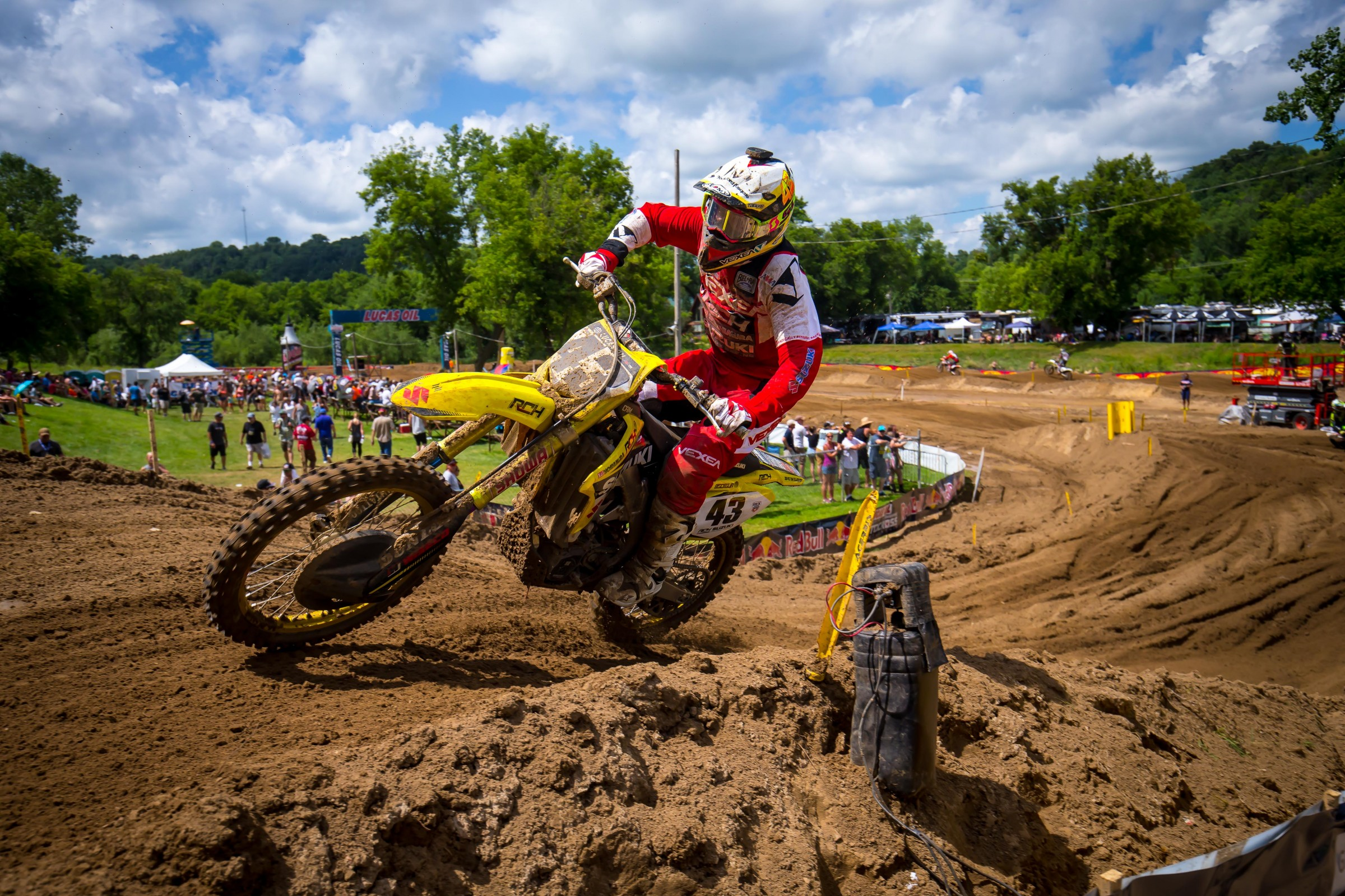 With a race under his belt and cooler temps expected in Washougal, Bisceglia should be better this weekend.