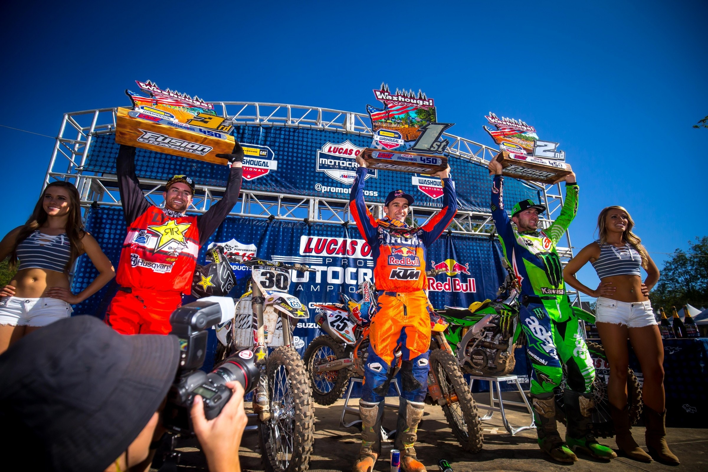 The Dialog: 450 Podium from Washougal – Motocross