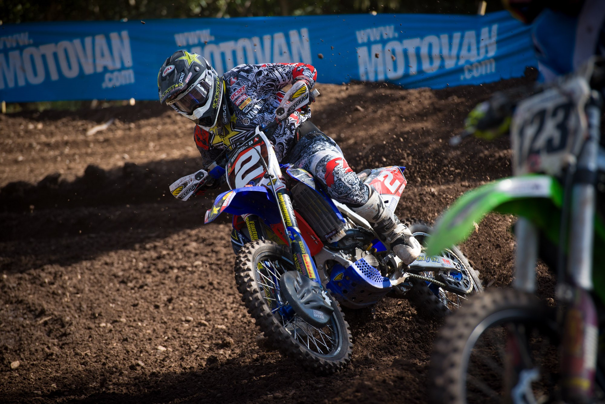 Series points leader Rockstar Energy OTSFF Yamaha's Matt Goerke continued to move closer to his third national title.