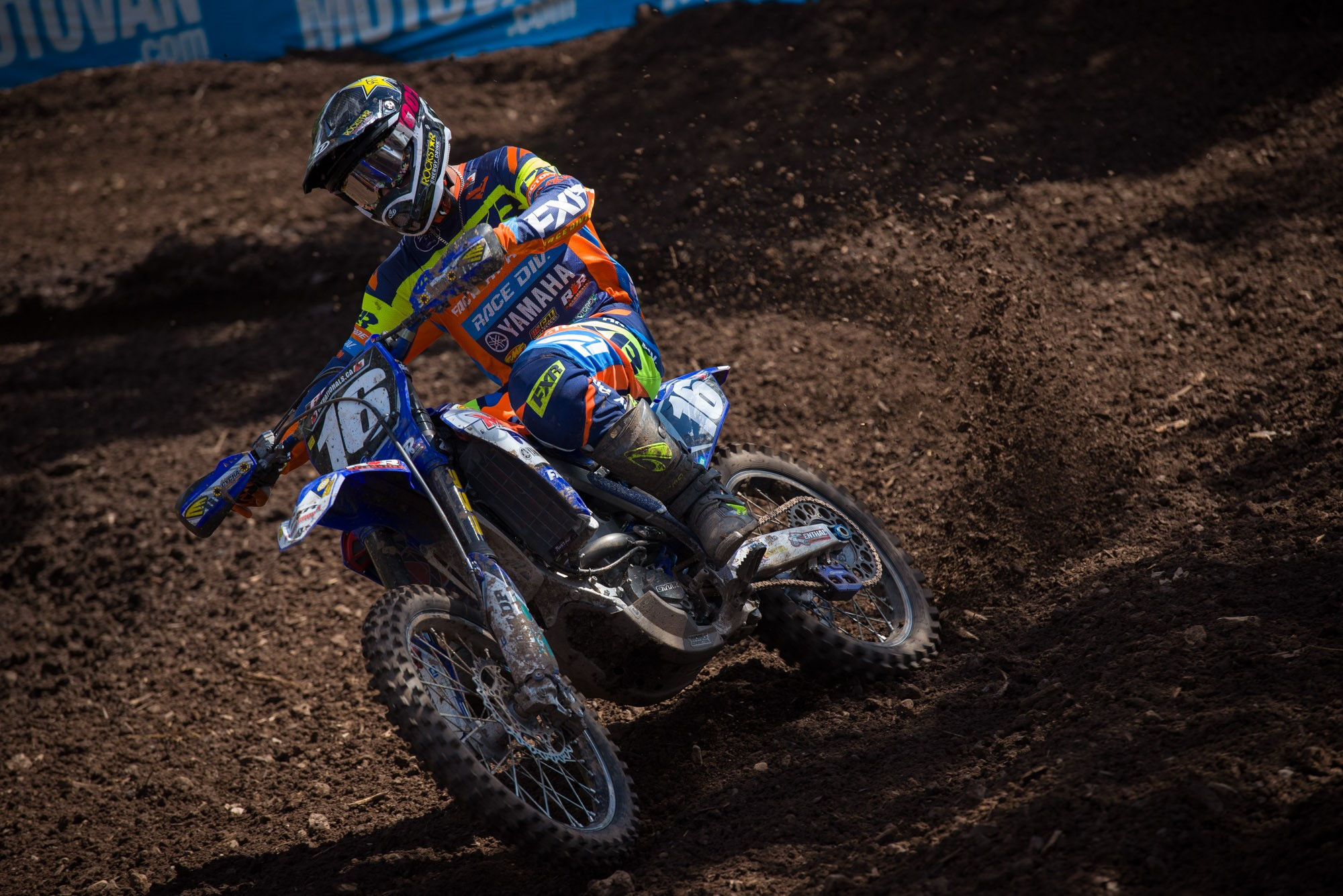 MX101 FXR Yamaha Team's Jess Pettis has three podium finishes this season after competing in only 6 of 8 rounds.