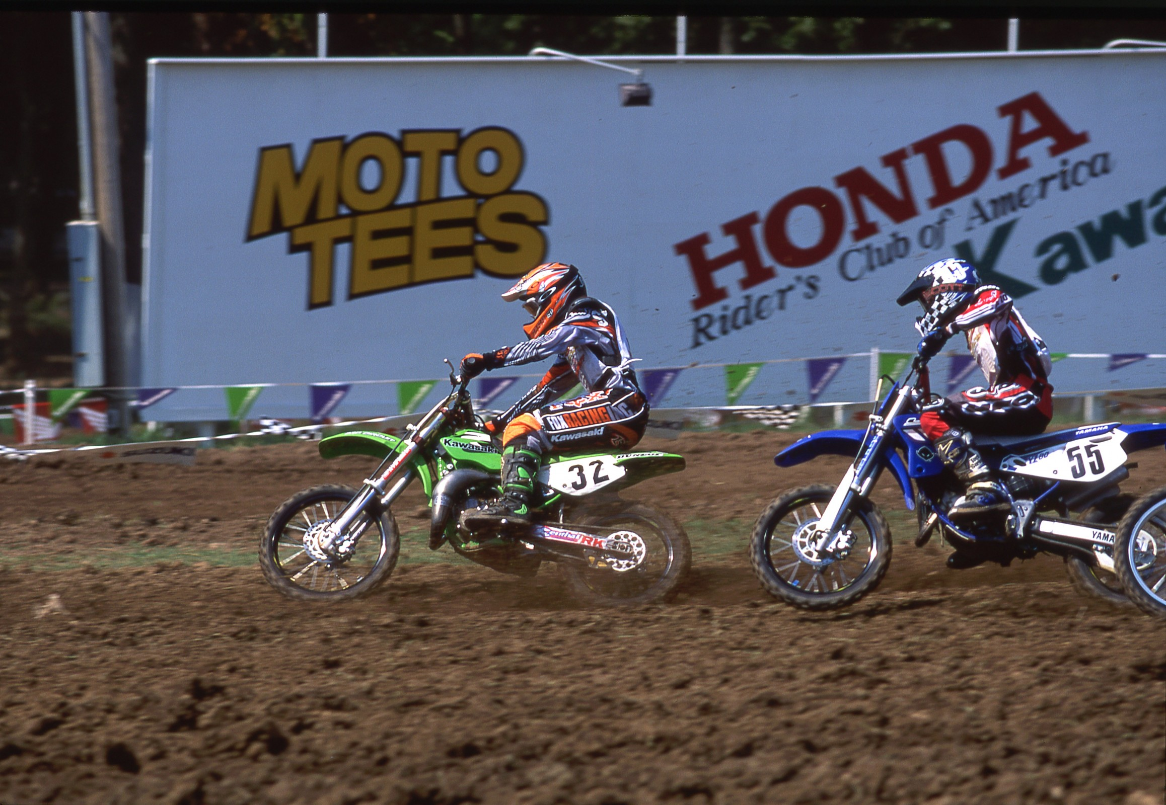 Many wondered if James Stewart could have won the 125 classes on his Team Green Kawasaki Supermini.