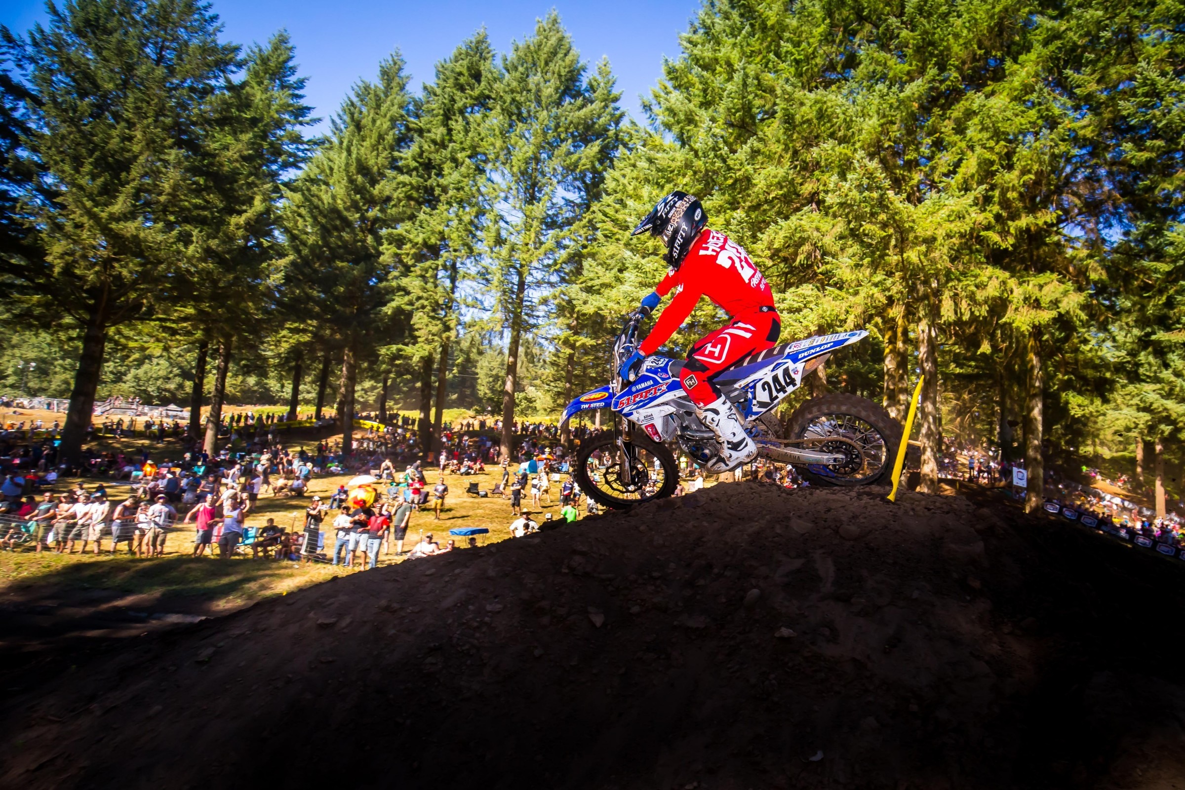 51Fifty Energy Drink Yamaha is a supercross-only team, but they were willing to help Hoeft race the Washougal National, along with other select events this summer.